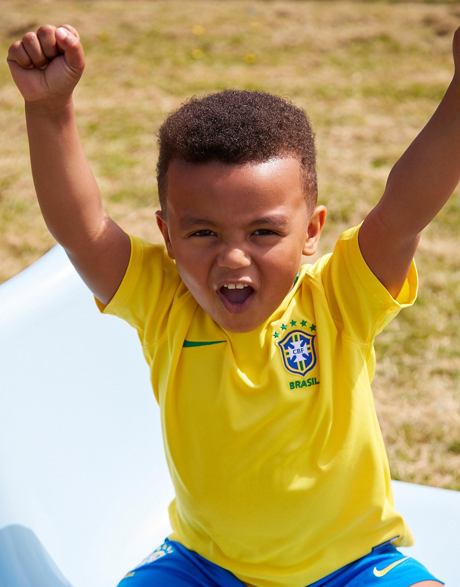 Nike Brazil 2018 Home Kit Children