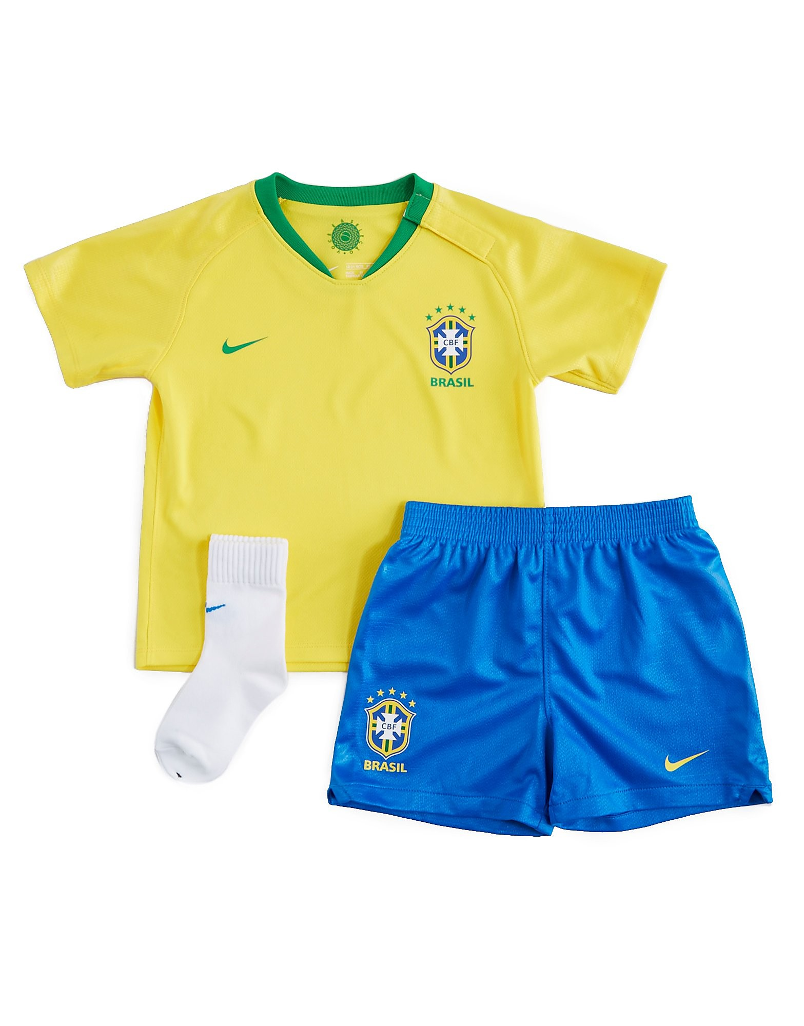Nike Brazil 2018 Home Kit Infant