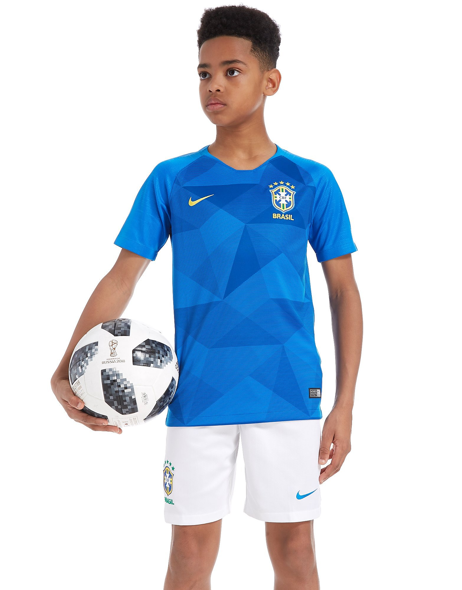 Nike Brazil 2018 Away Shirt Junior