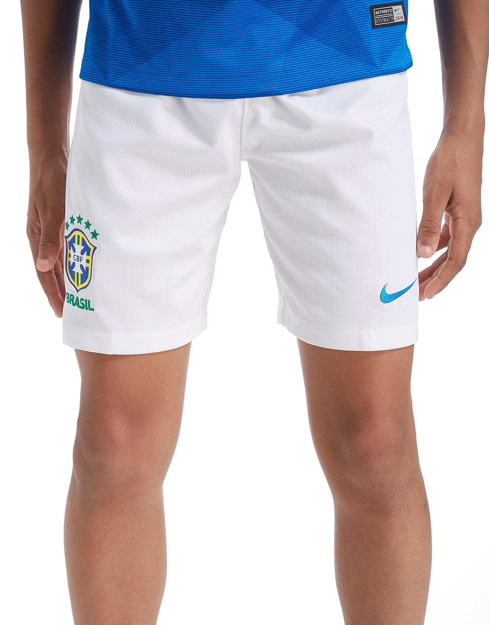 Nike Brazil 2018 Away Shorts Junior