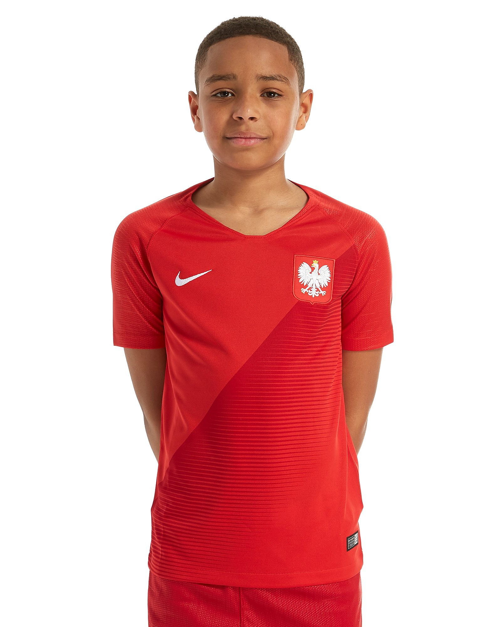 Nike Poland 2018 Away Shirt Junior