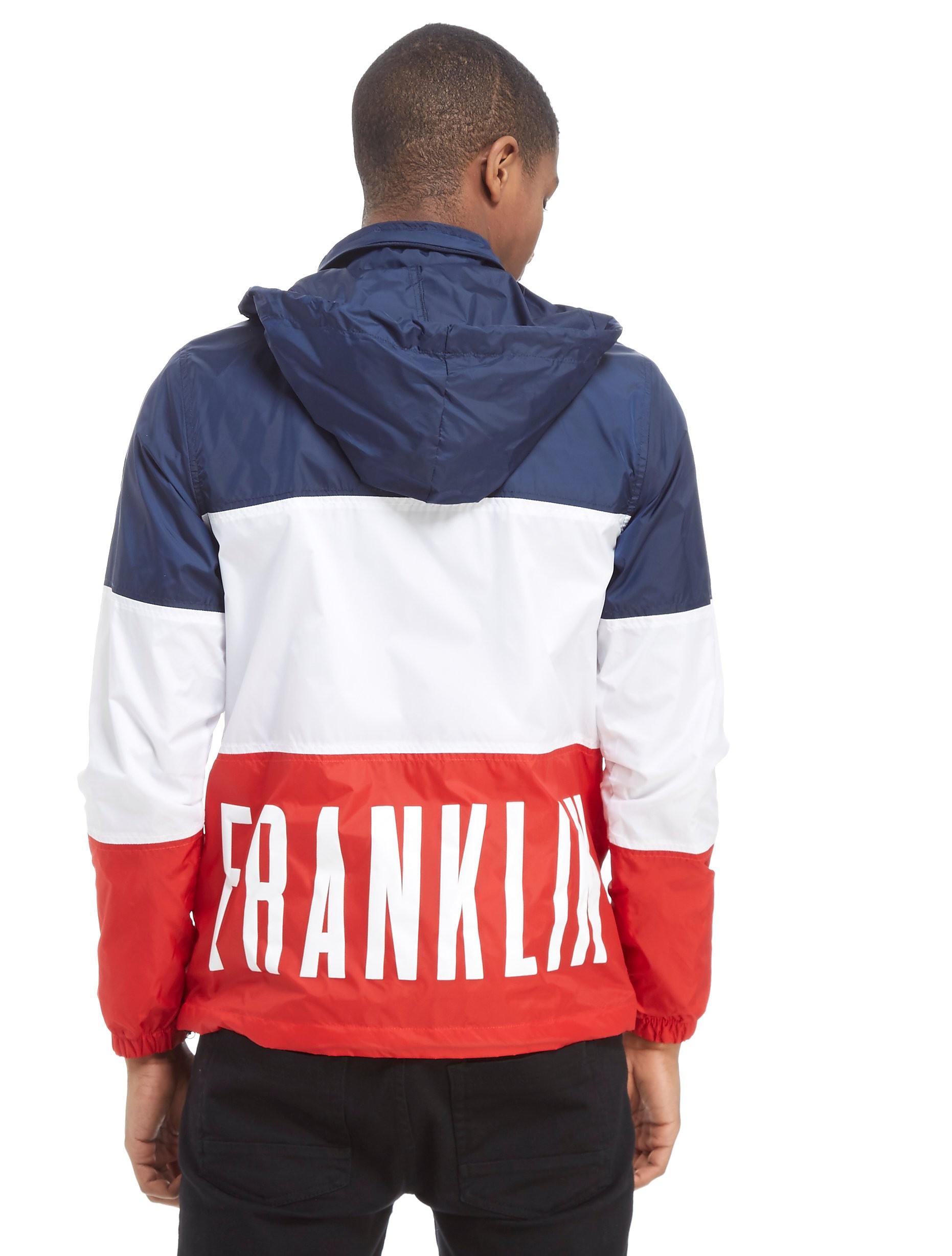 Franklin & Marshall Colourblock Zip Through Jacket