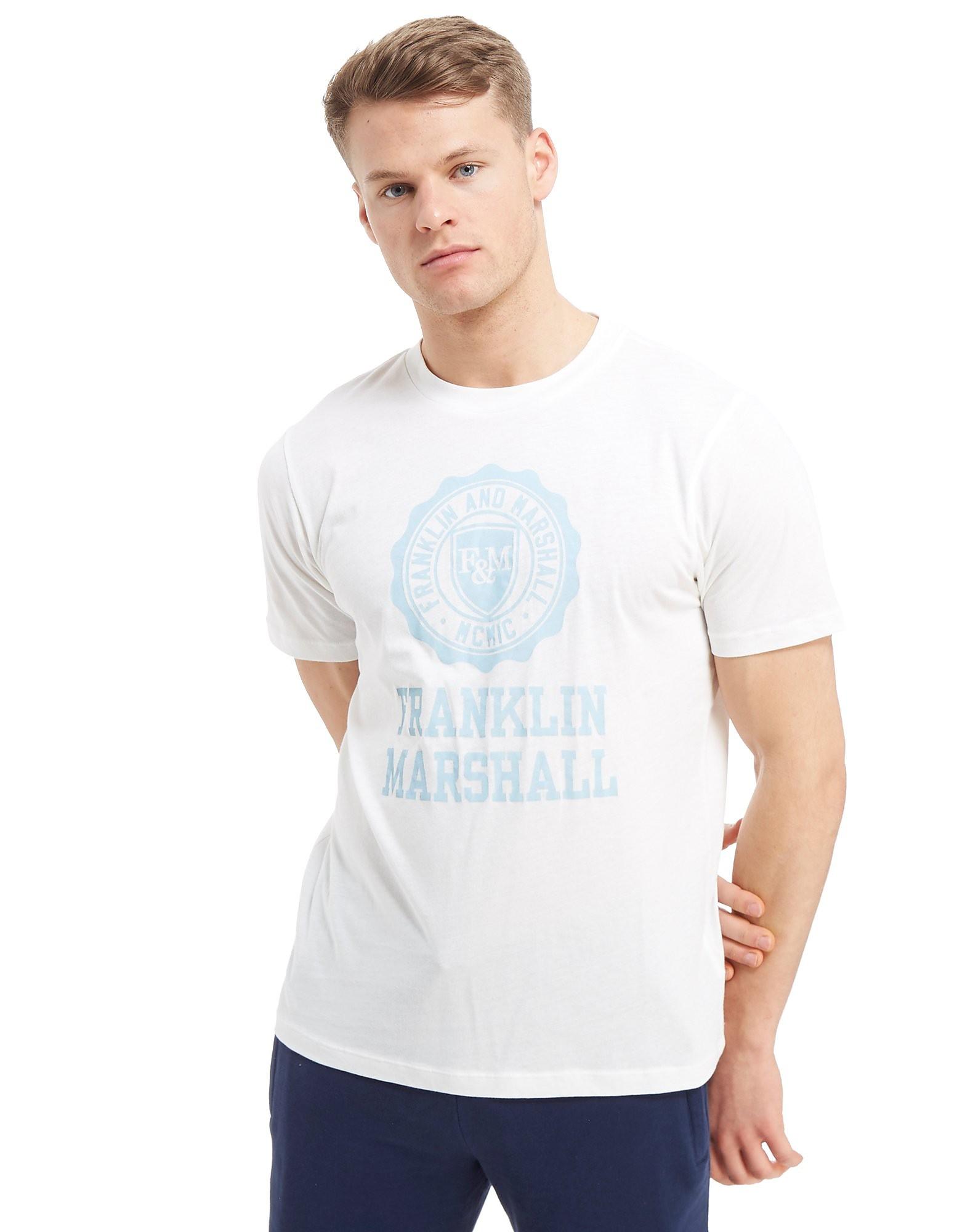 Franklin & Marshall Large Brand Logo T-Shirt