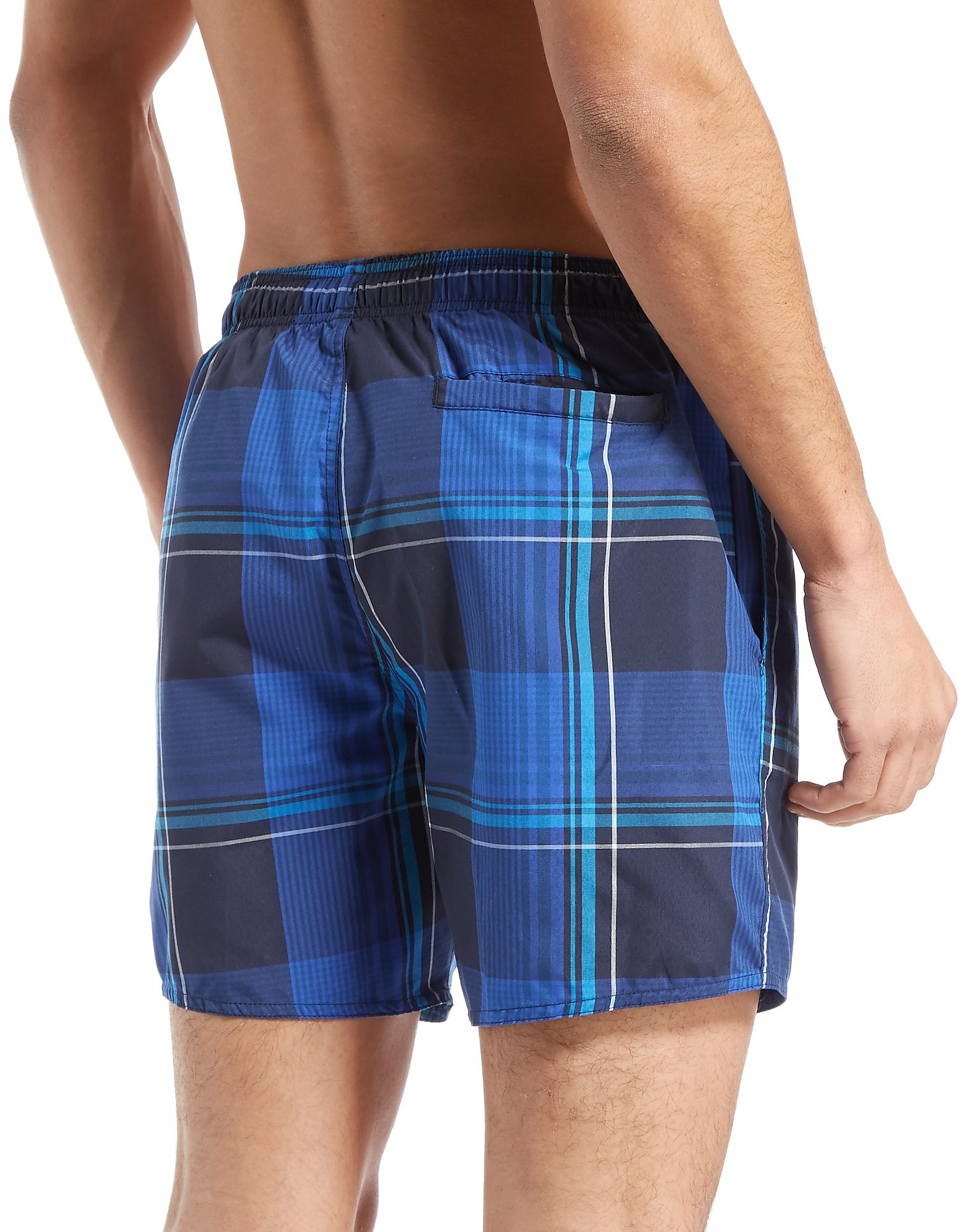 Speedo 16 Inch Check Swim Shorts