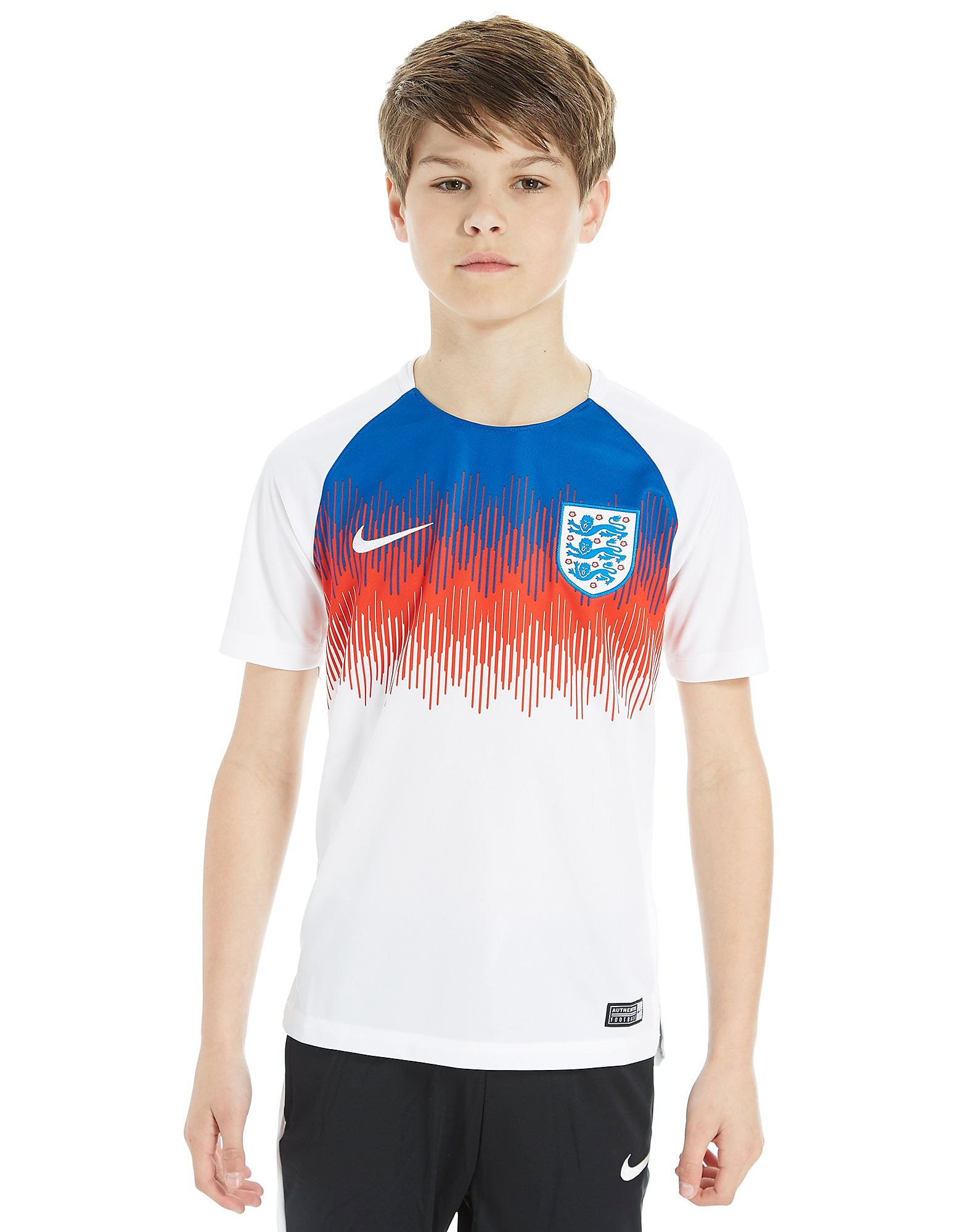 Nike England Squad Pre Match Shirt Junior