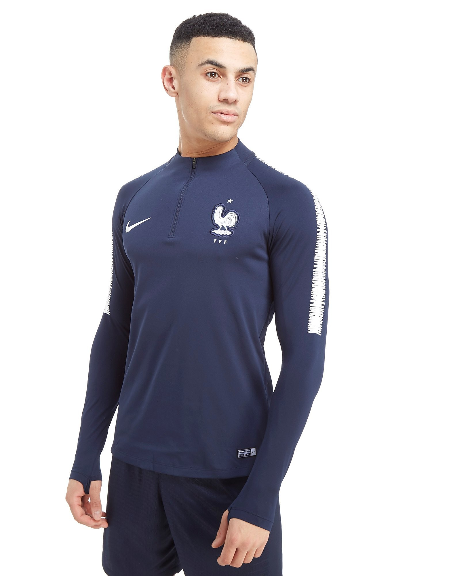 Nike France Squad Drill Top