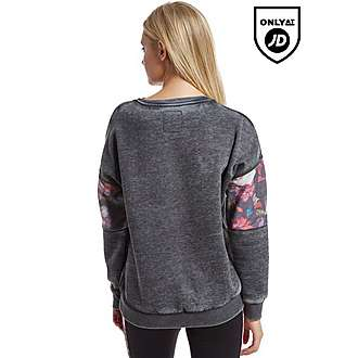 Brookhaven Floral Crew Sweatshirt