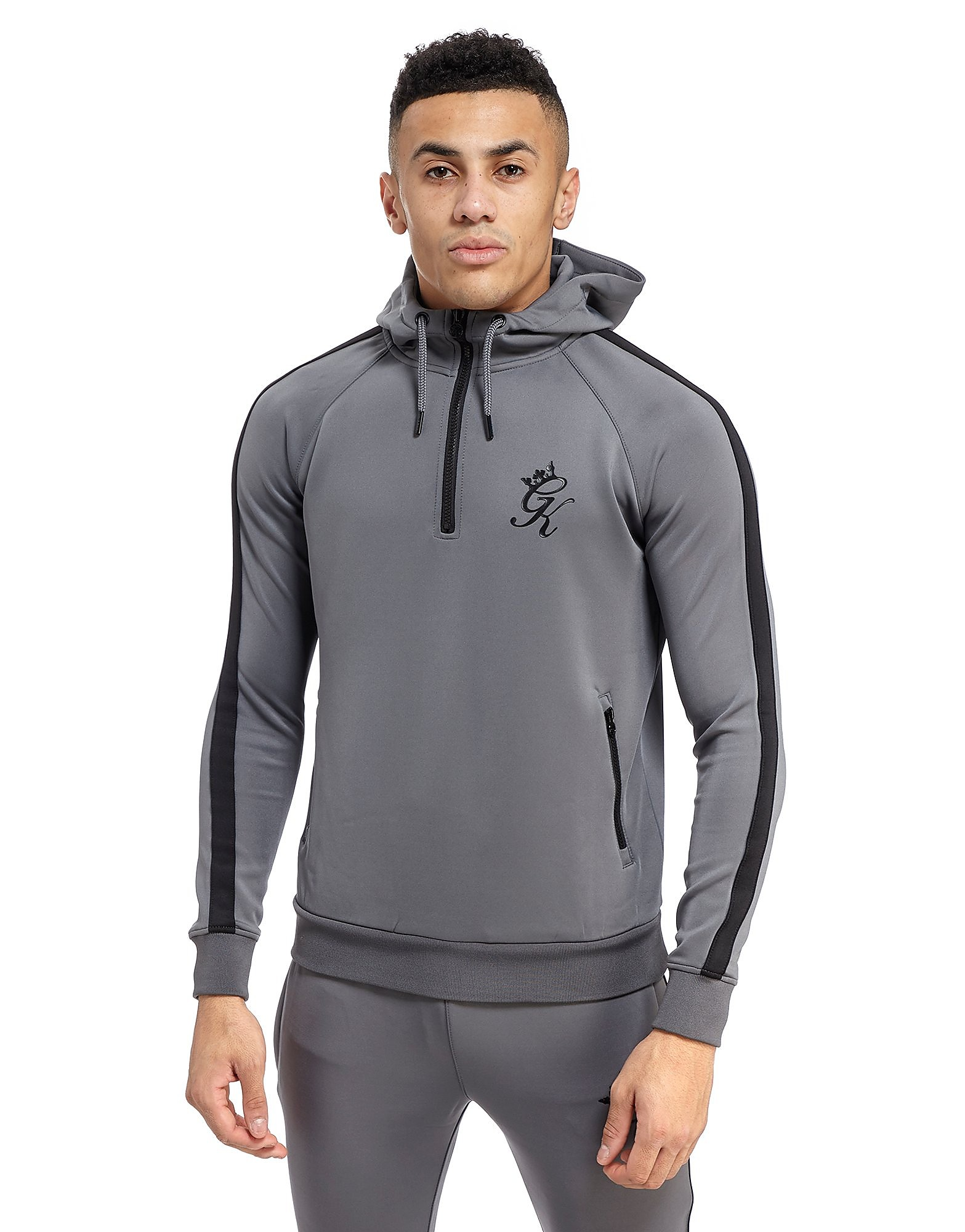 Gym King Poly 1/4 Zip Hoodie