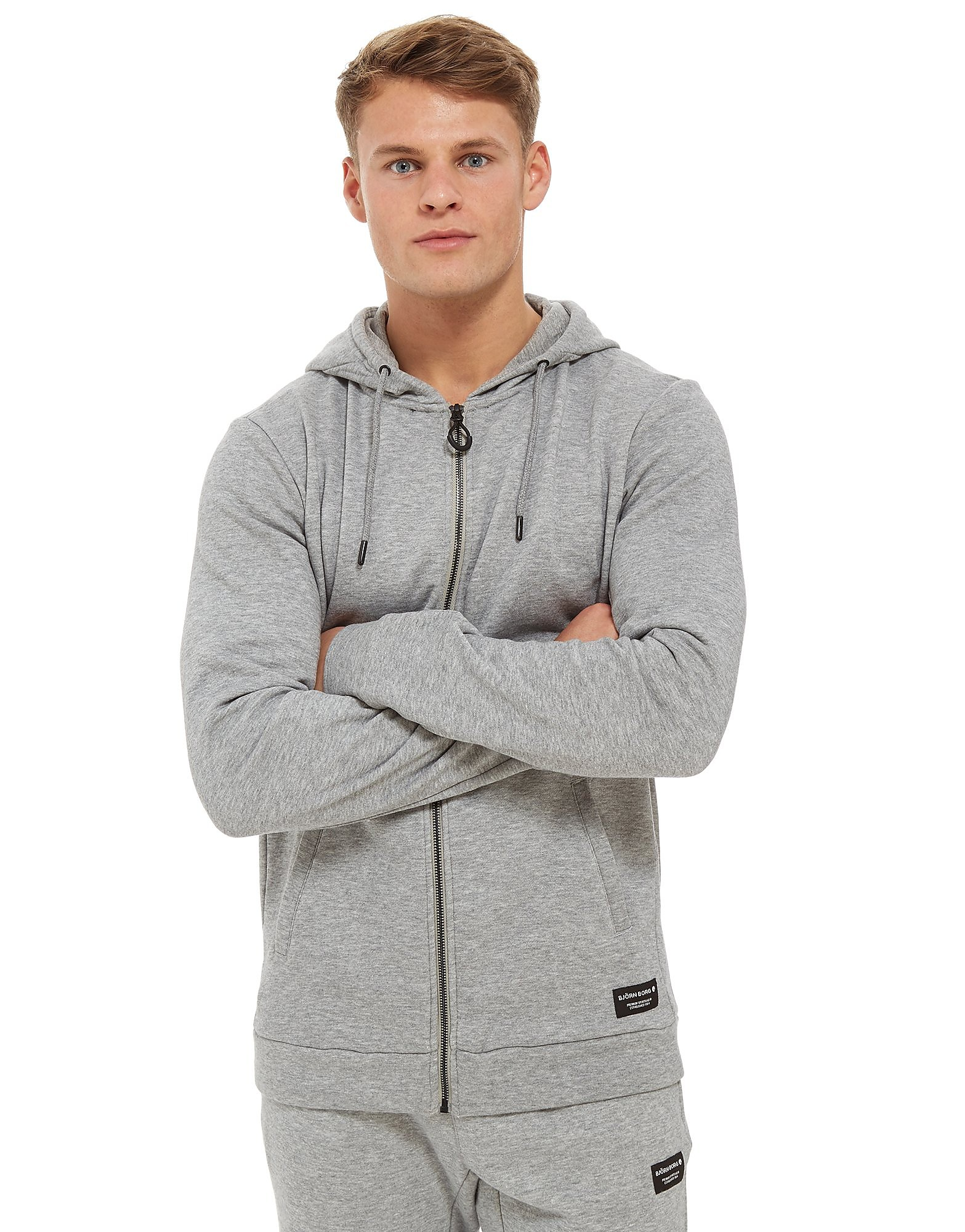 Bjorn Borg Core Fleece Zip Though Hoodie
