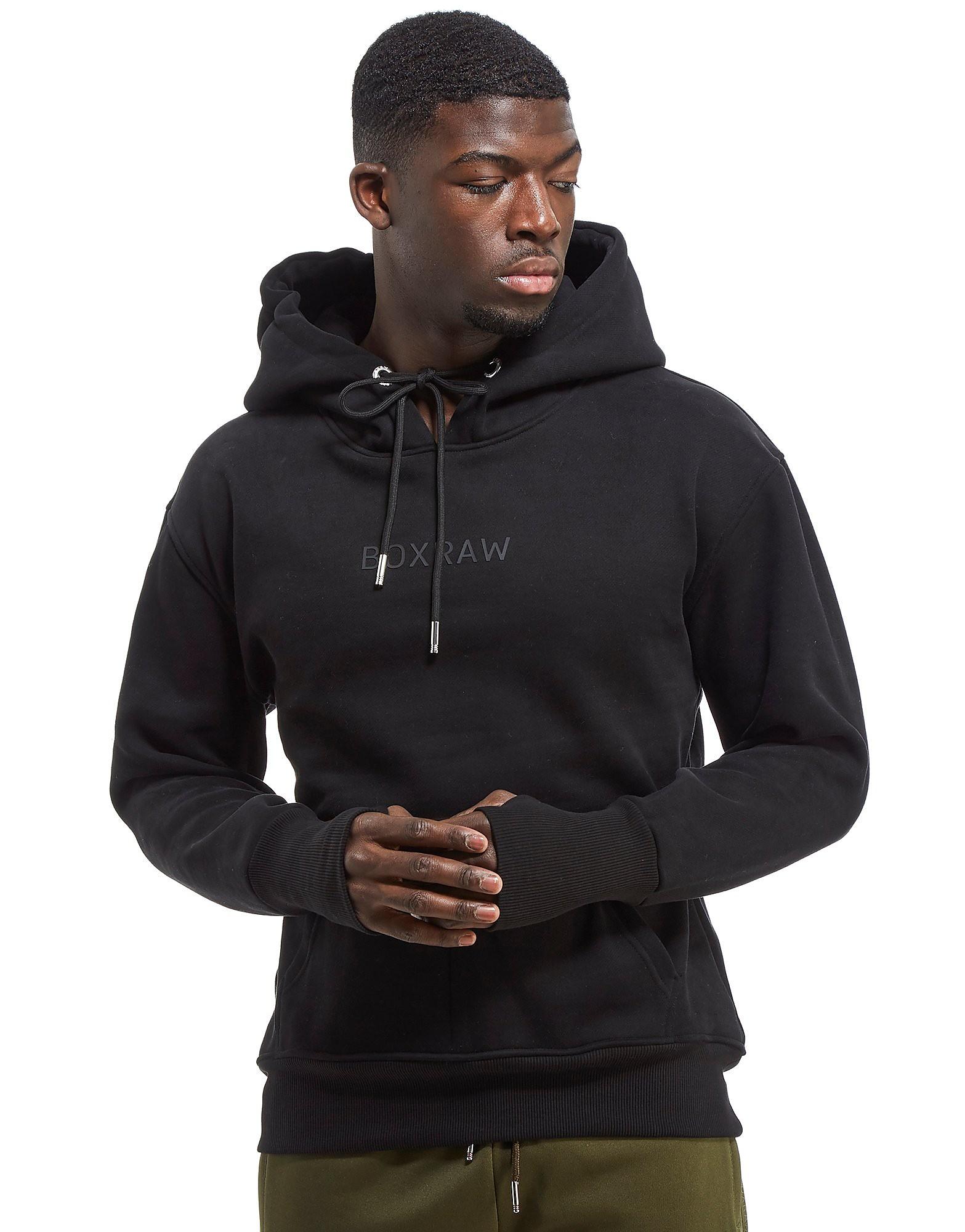 BOXRAW Dempsey Hoodie Black - Black, Black