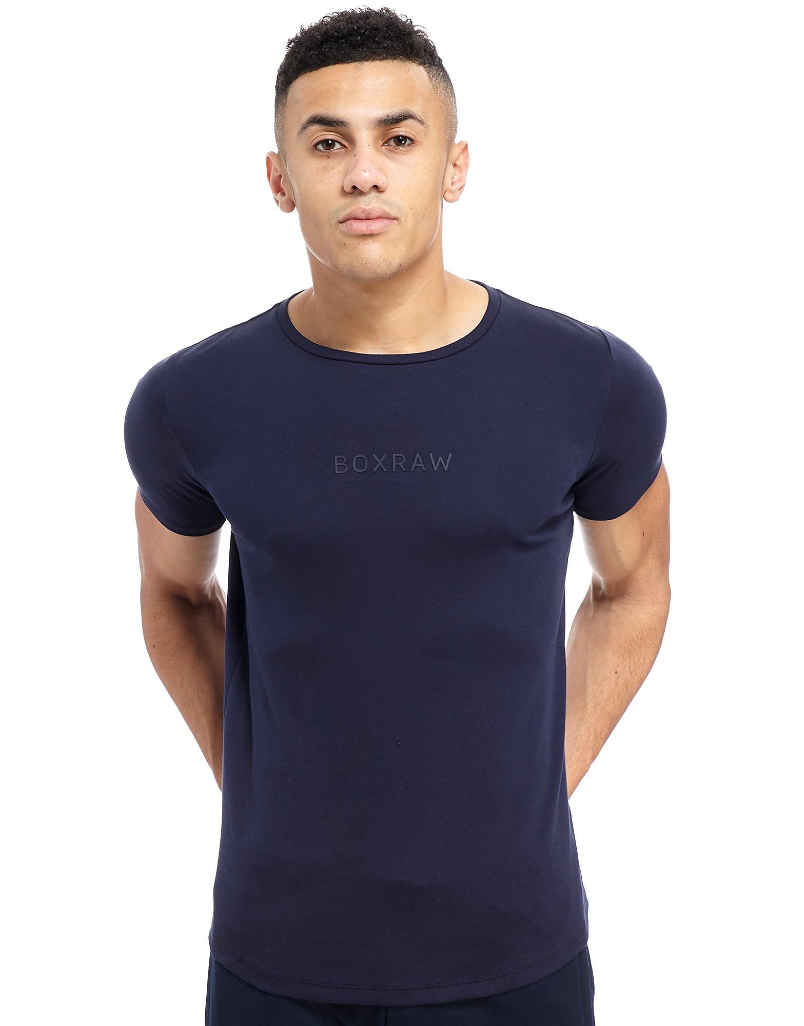 BOXRAW Pima Cotton T-Shirt Heren - Blauw - Heren