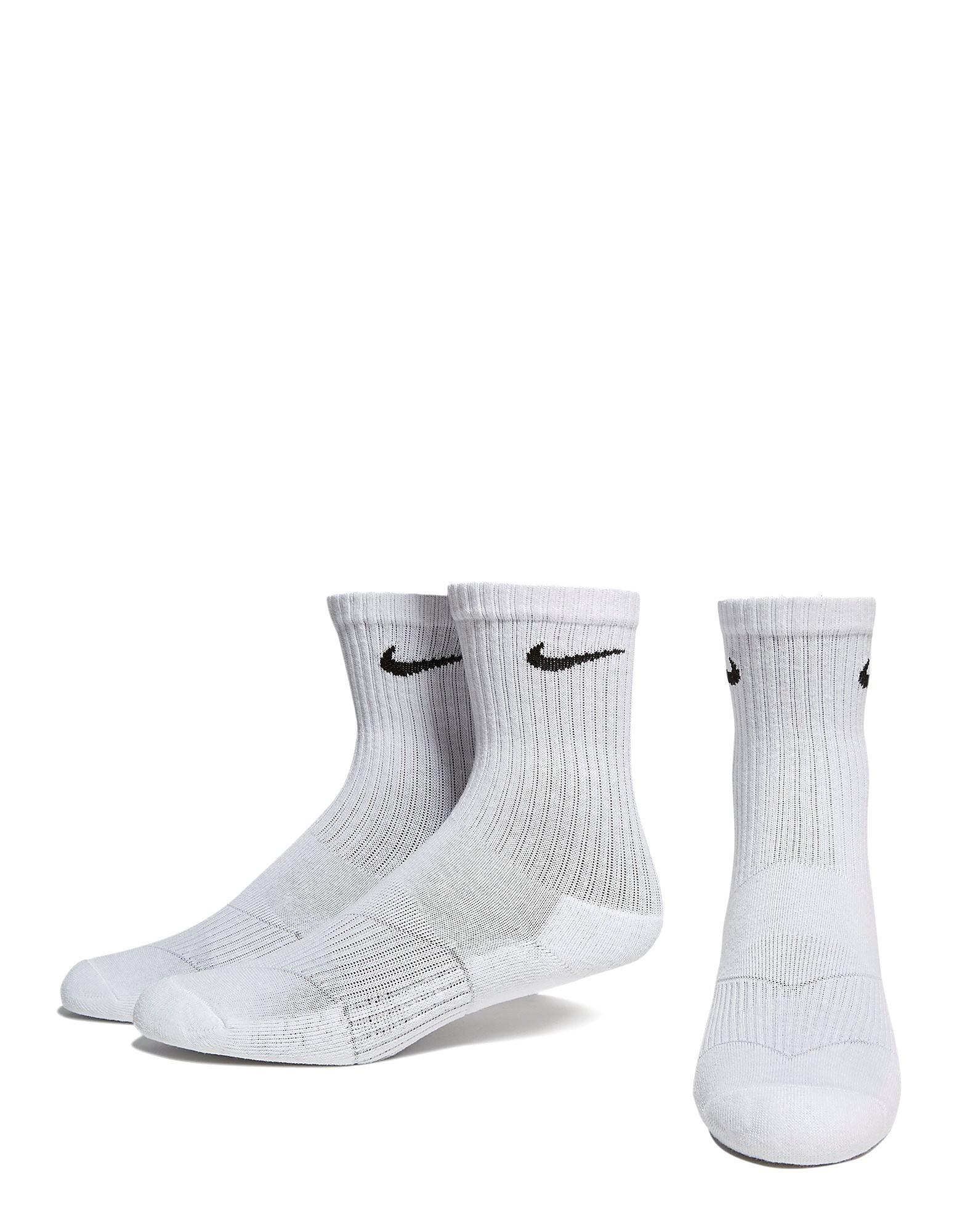 Nike 3 paar sportsokken voor tieners