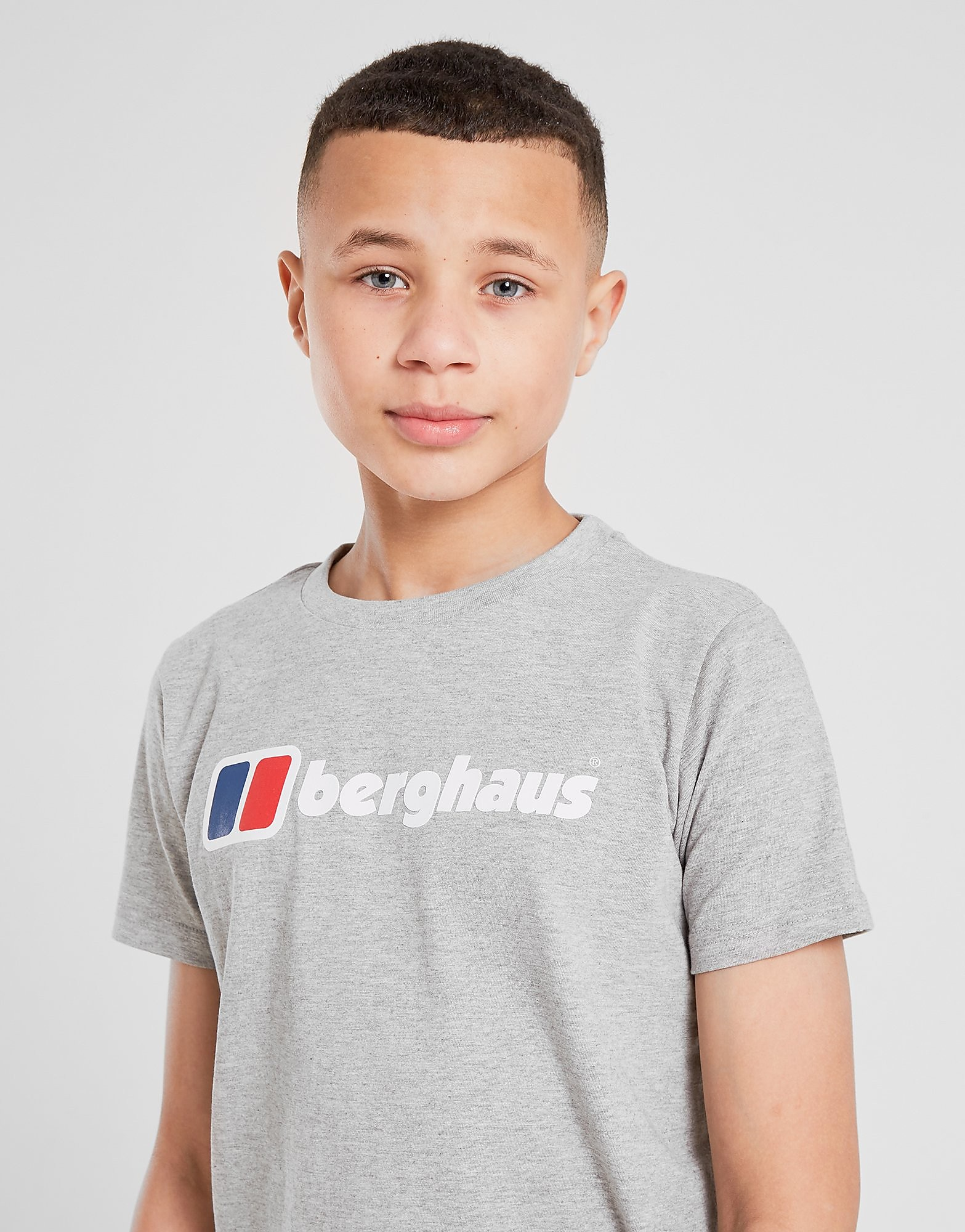 Berghaus Logo T-Shirt Junior, Grå