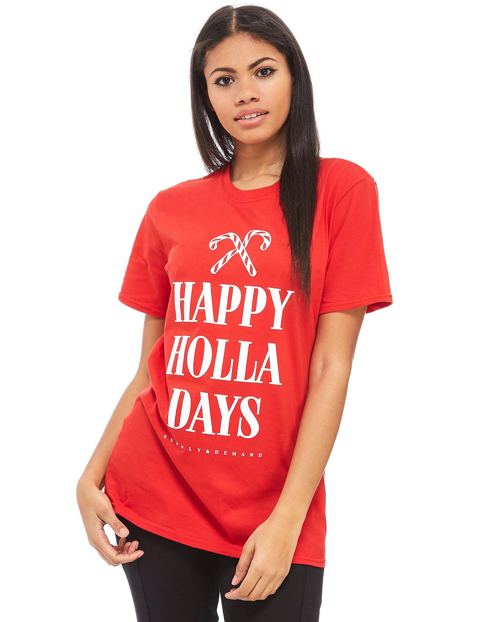 Supply & Demand camiseta Happy Holla Days