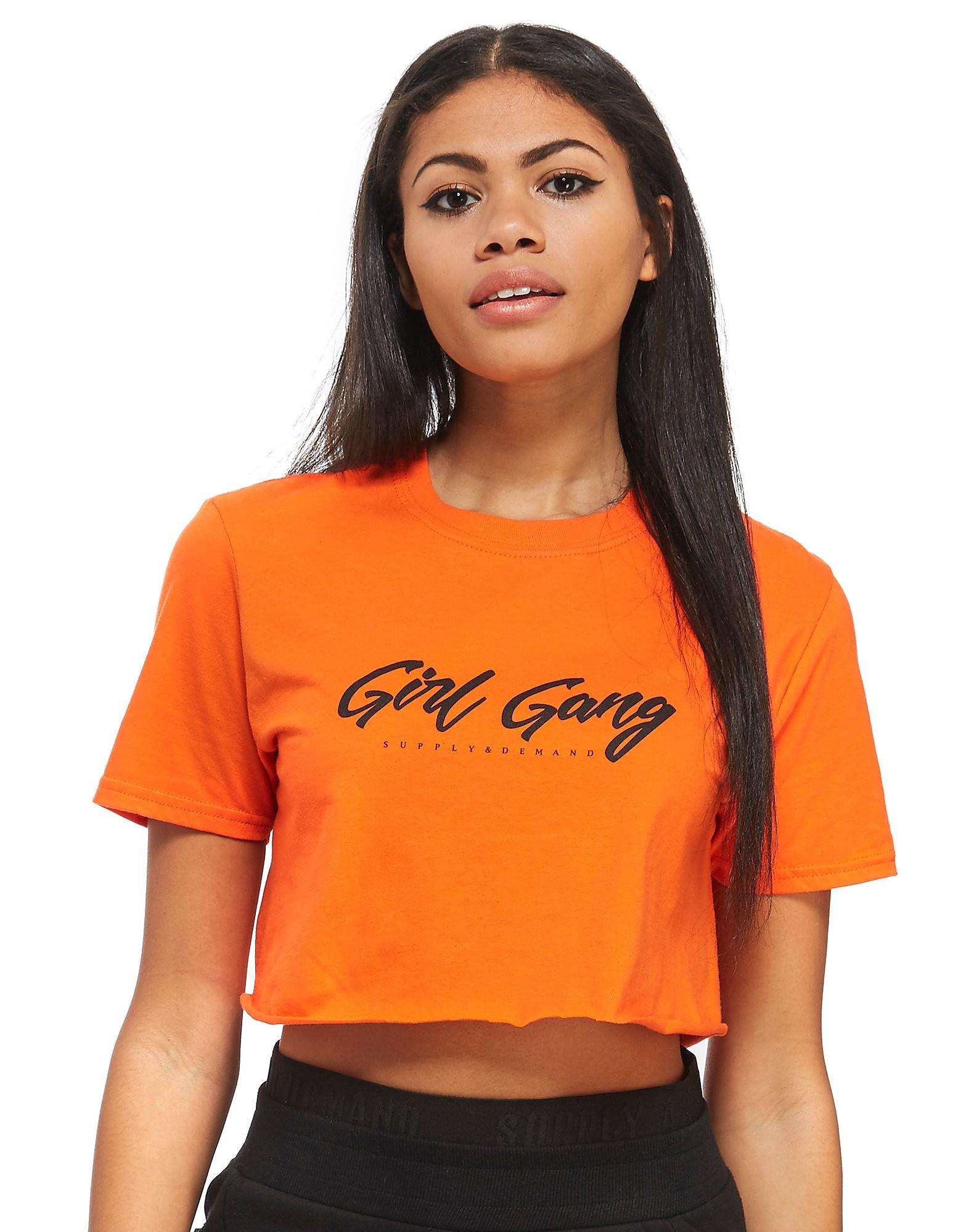 Supply & Demand Girl Gang Crop T-Shirt
