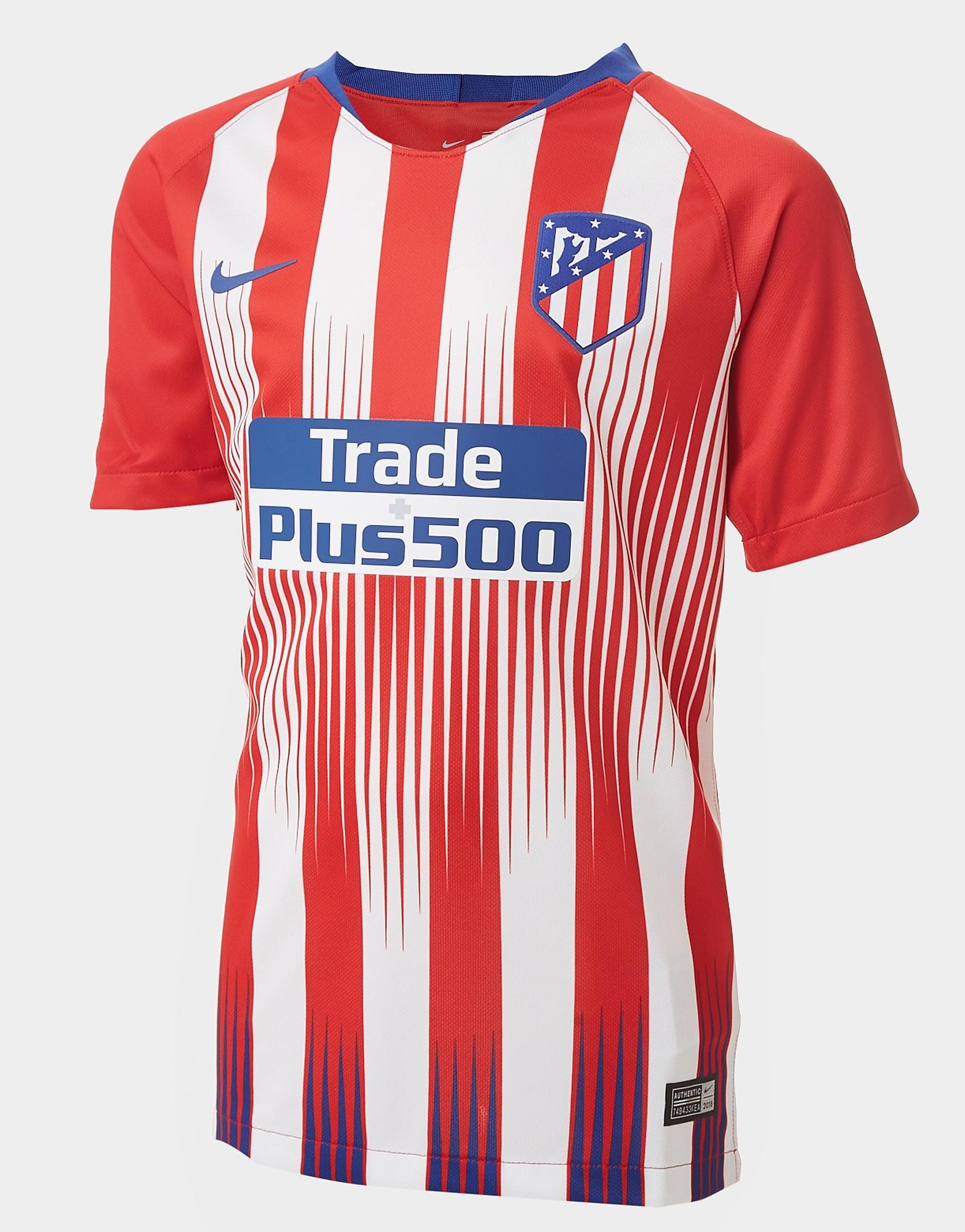 Nike Atletico Madrid 2018/19 Home Shirt Junior - Rood - Kind