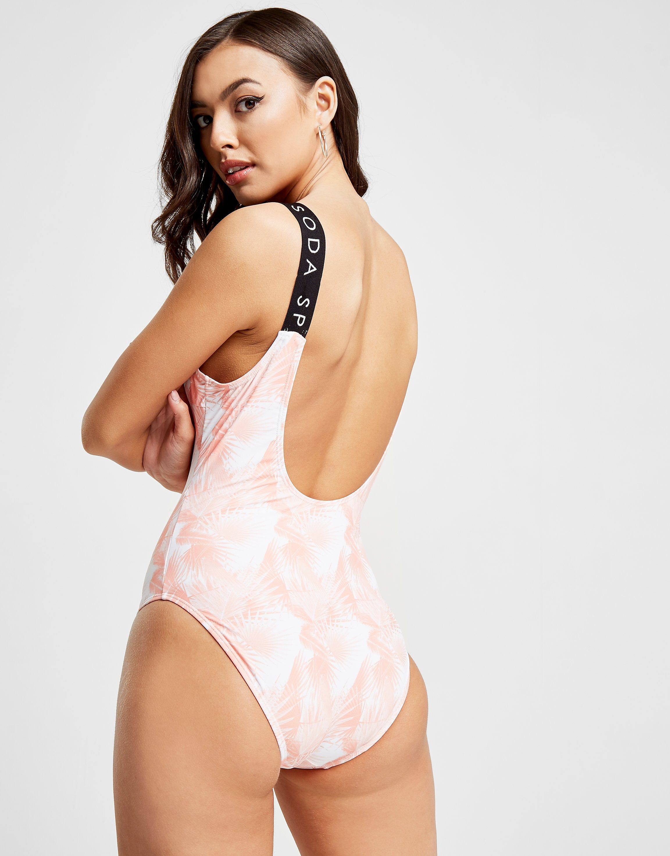 Pink Soda Sport Tropical Swimsuit