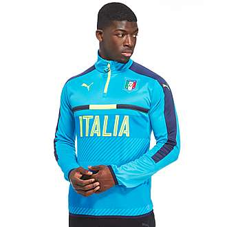 PUMA Italy 1/4 Zip Training Top