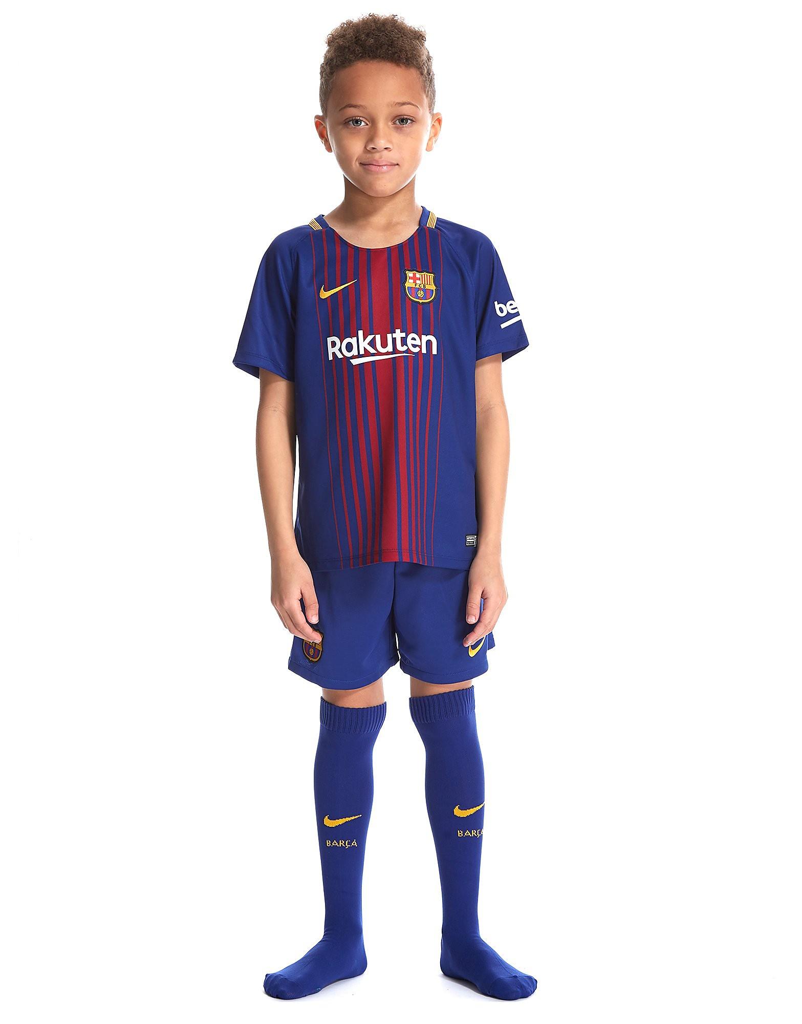 Nike FC Barcelona 2017/18 Home Kit Children