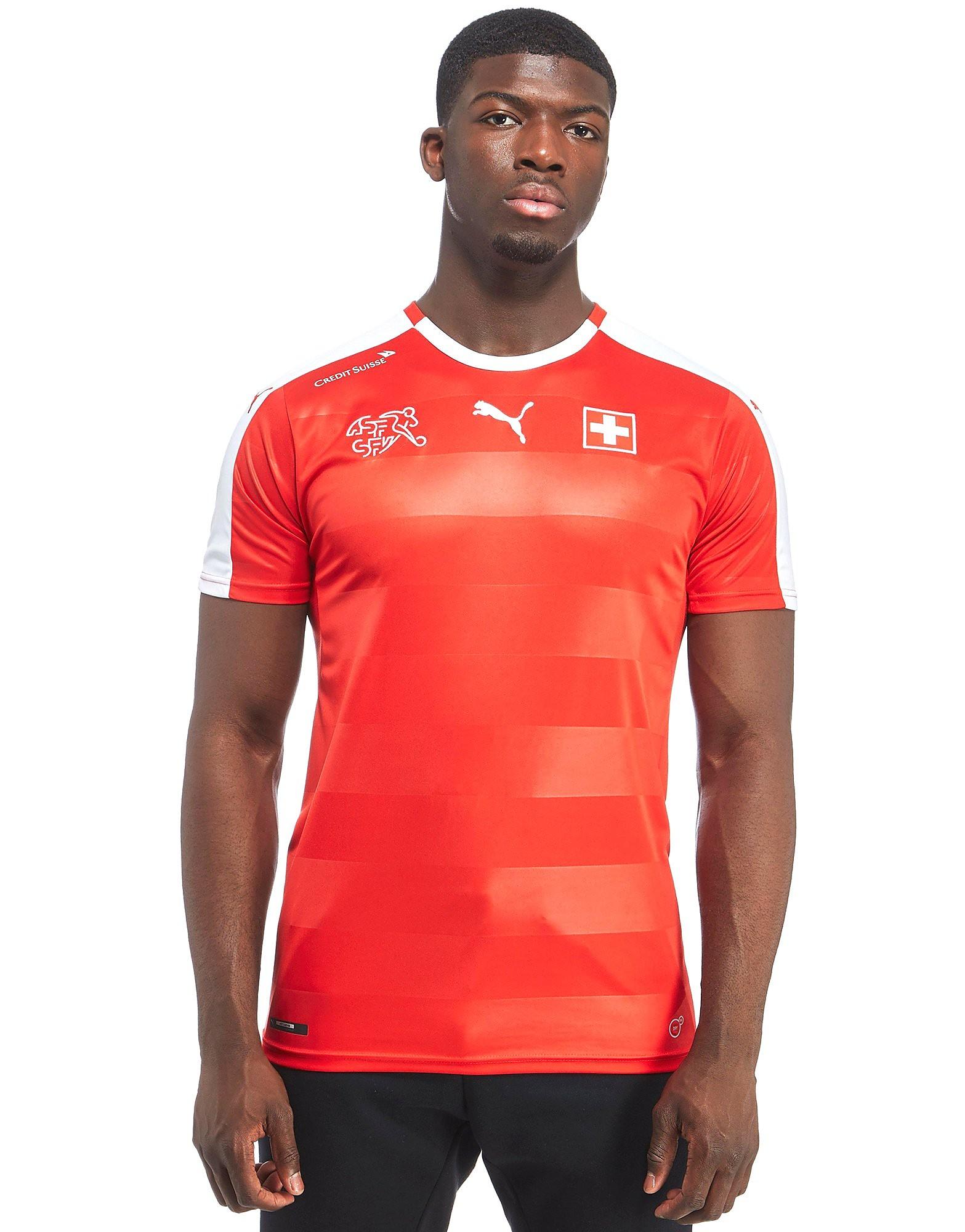 PUMA Switzerland 2016 Home Shirt
