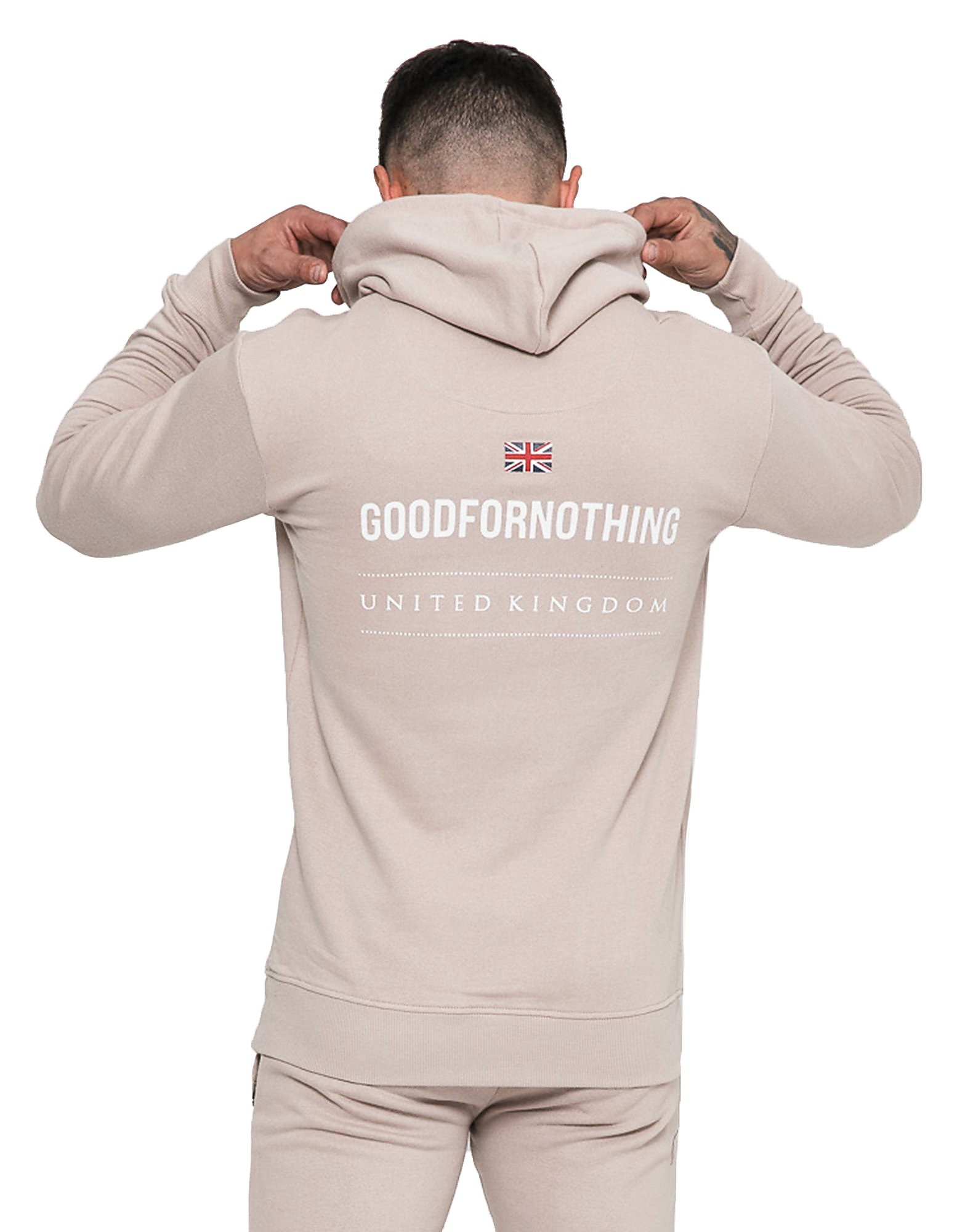 Good For Nothing Overhead Back Logo Hoodie