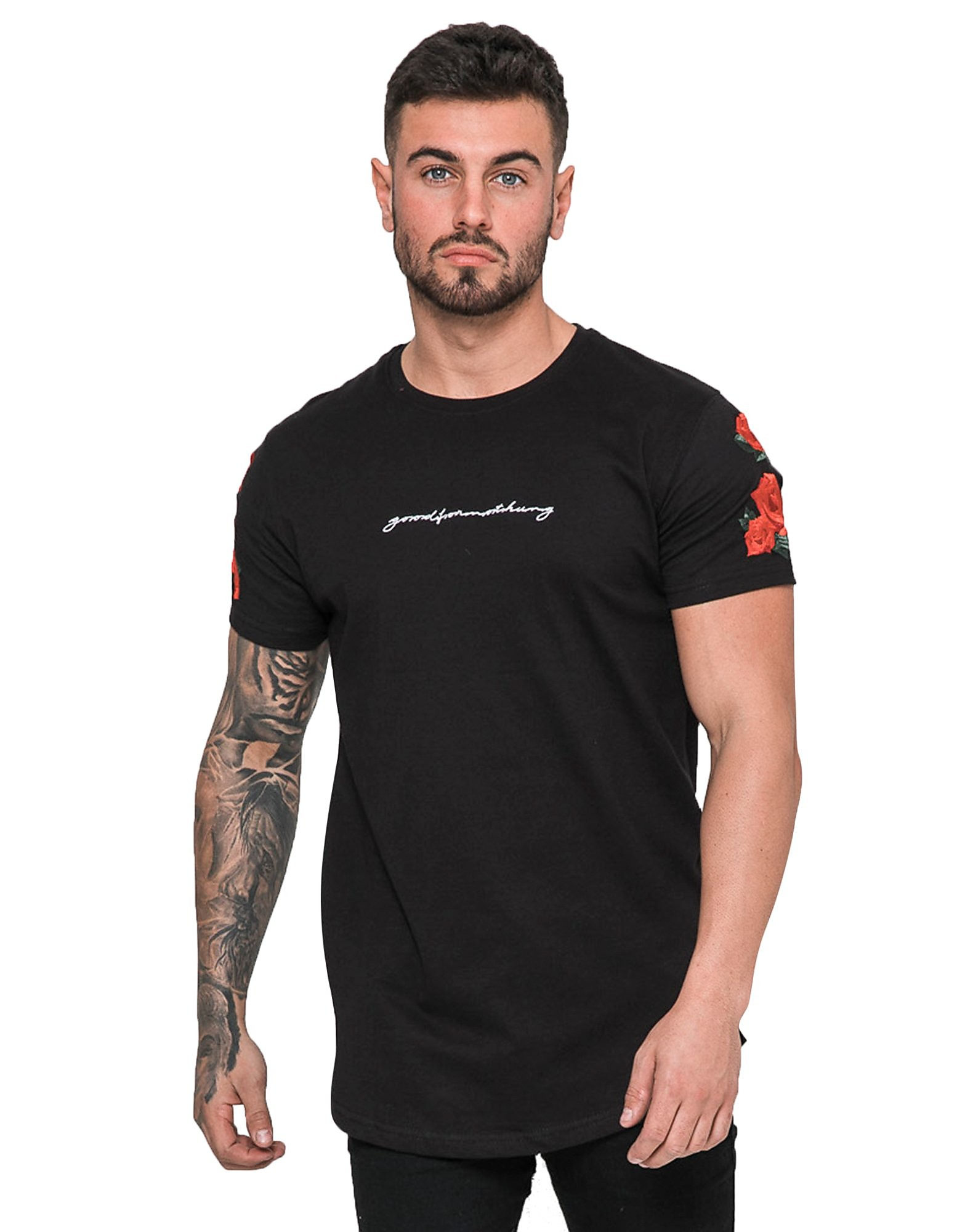 Good For Nothing Short Sleeve Rose T-Shirt