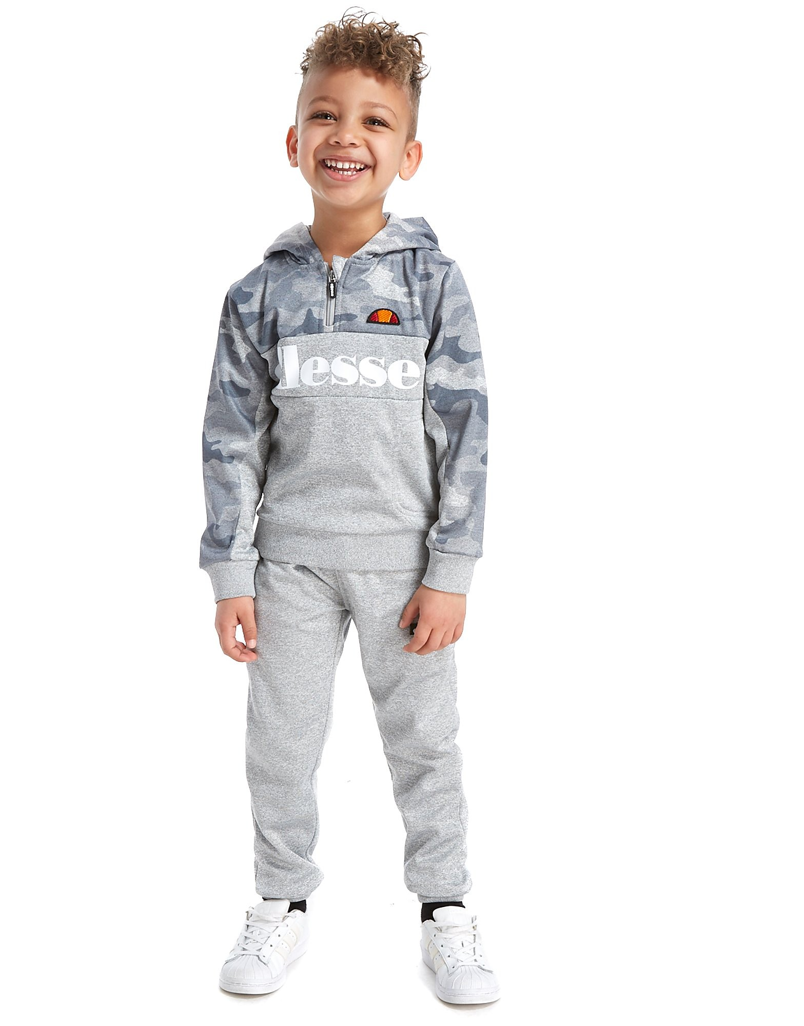 Ellesse Colombo Poly 1/4 Zip Suit Children