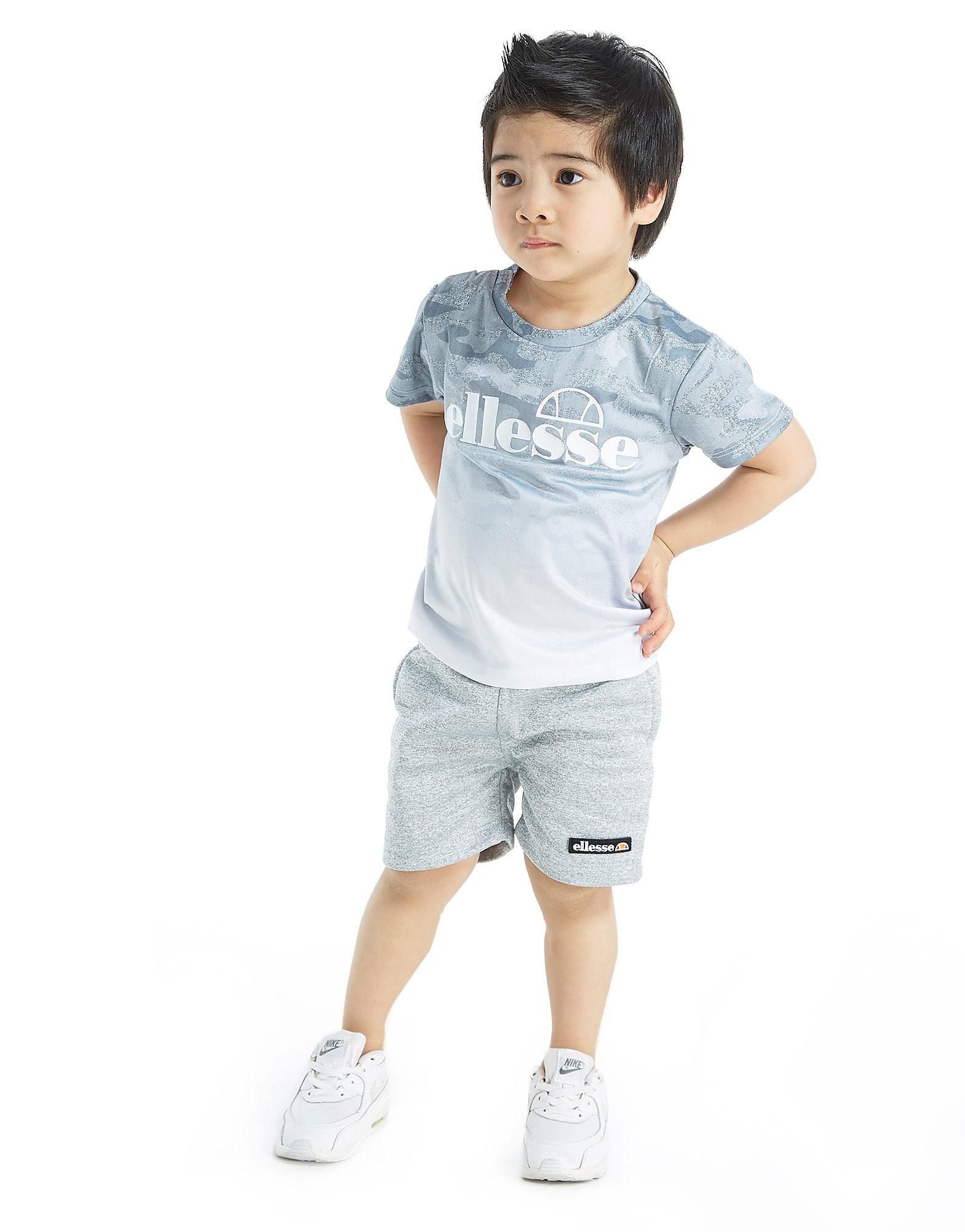 Ellesse Diego Fade T-Shirt & Shorts Set Baby's - Grijs - Kind