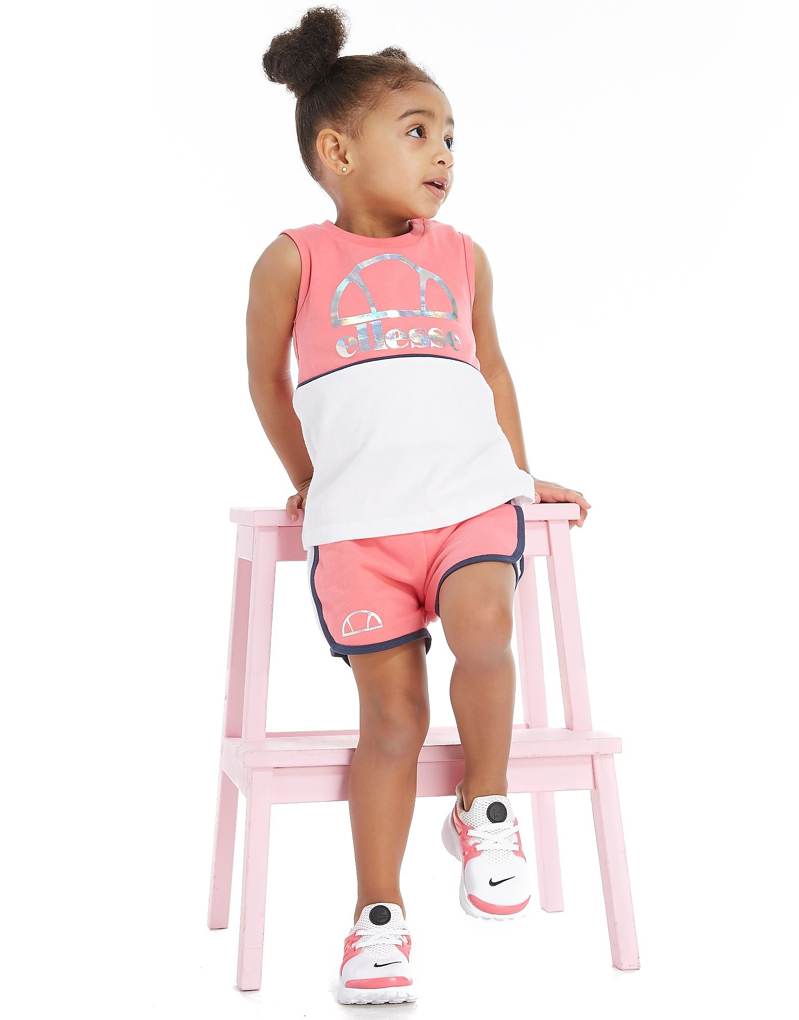 Ellesse Ensemble Girls' Gemma Tank/Short Bébé