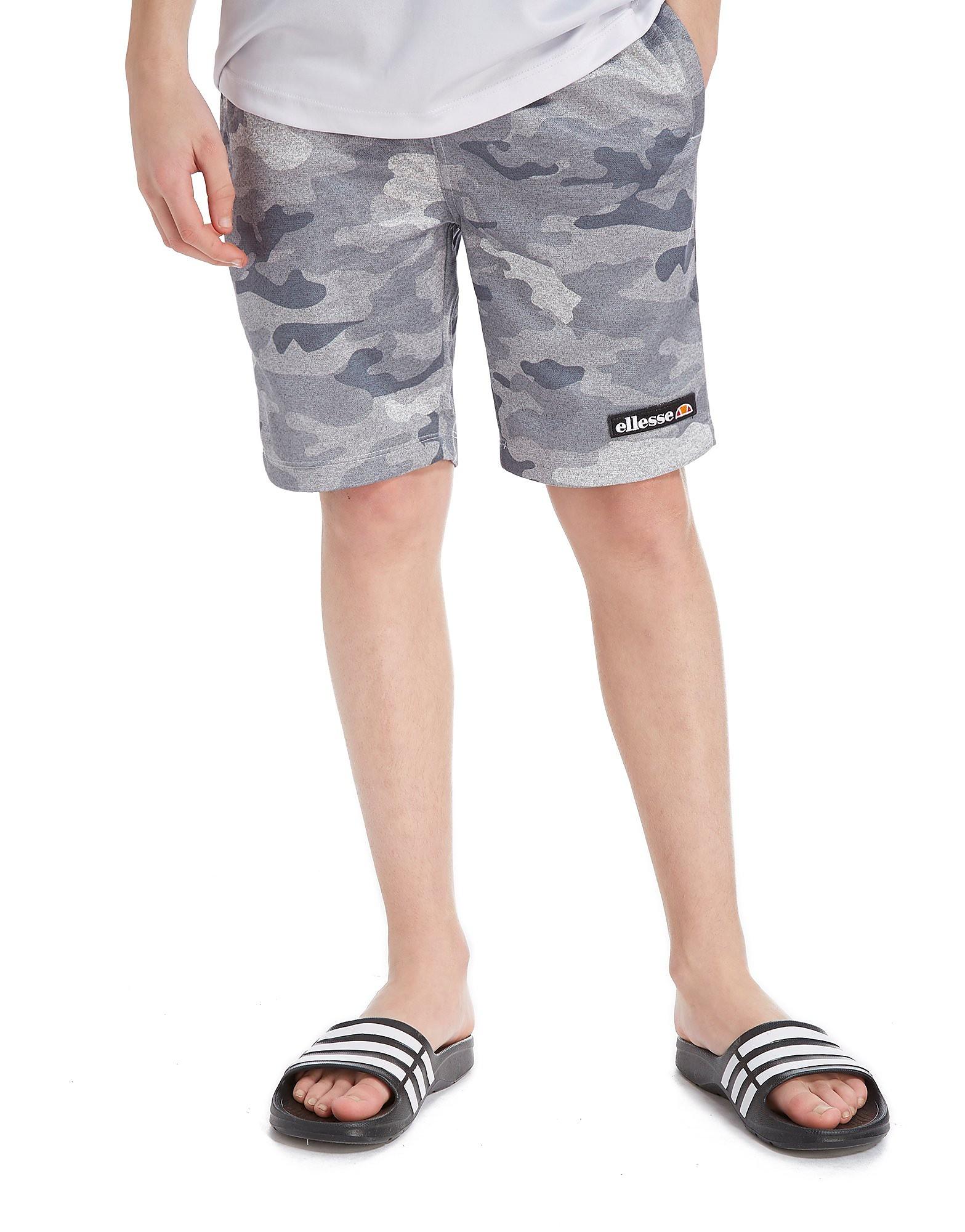 Ellesse Vianni Camo Fleece Shorts Junior