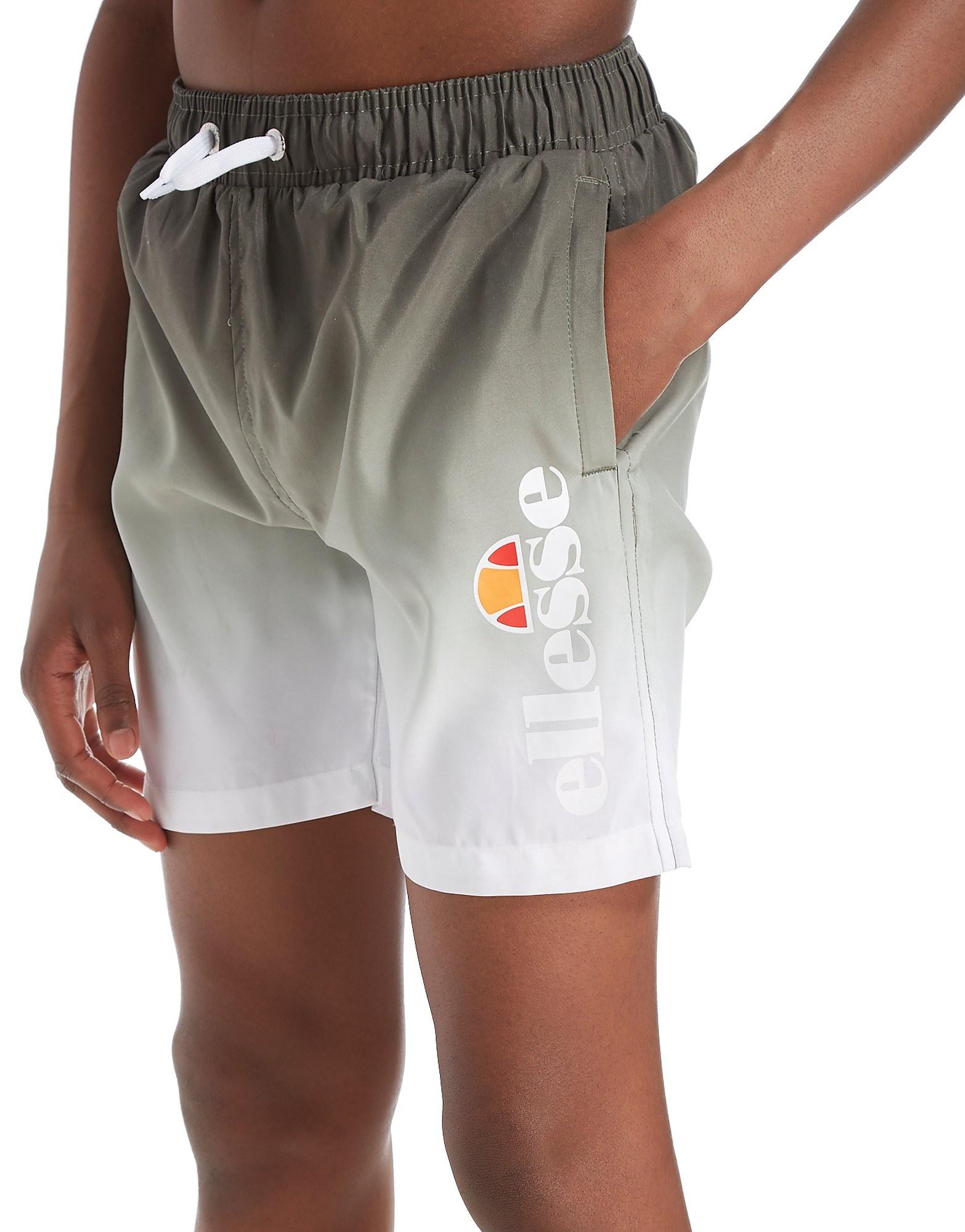 Ellesse Delto Fade Swim Shorts Junior - Olive - Kind
