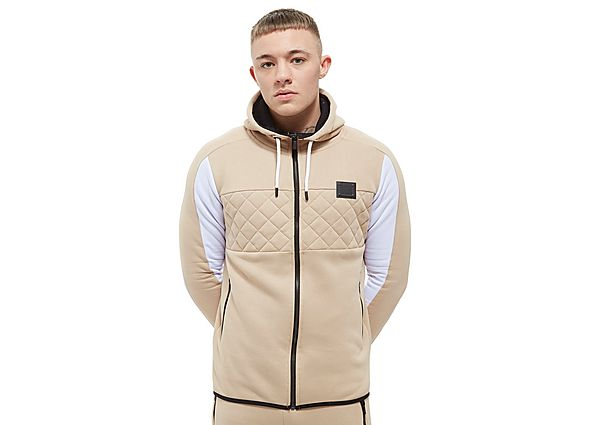 Supply & Demand Chicago Brushback Fleece Hoodie - Only at JD, Stone/White