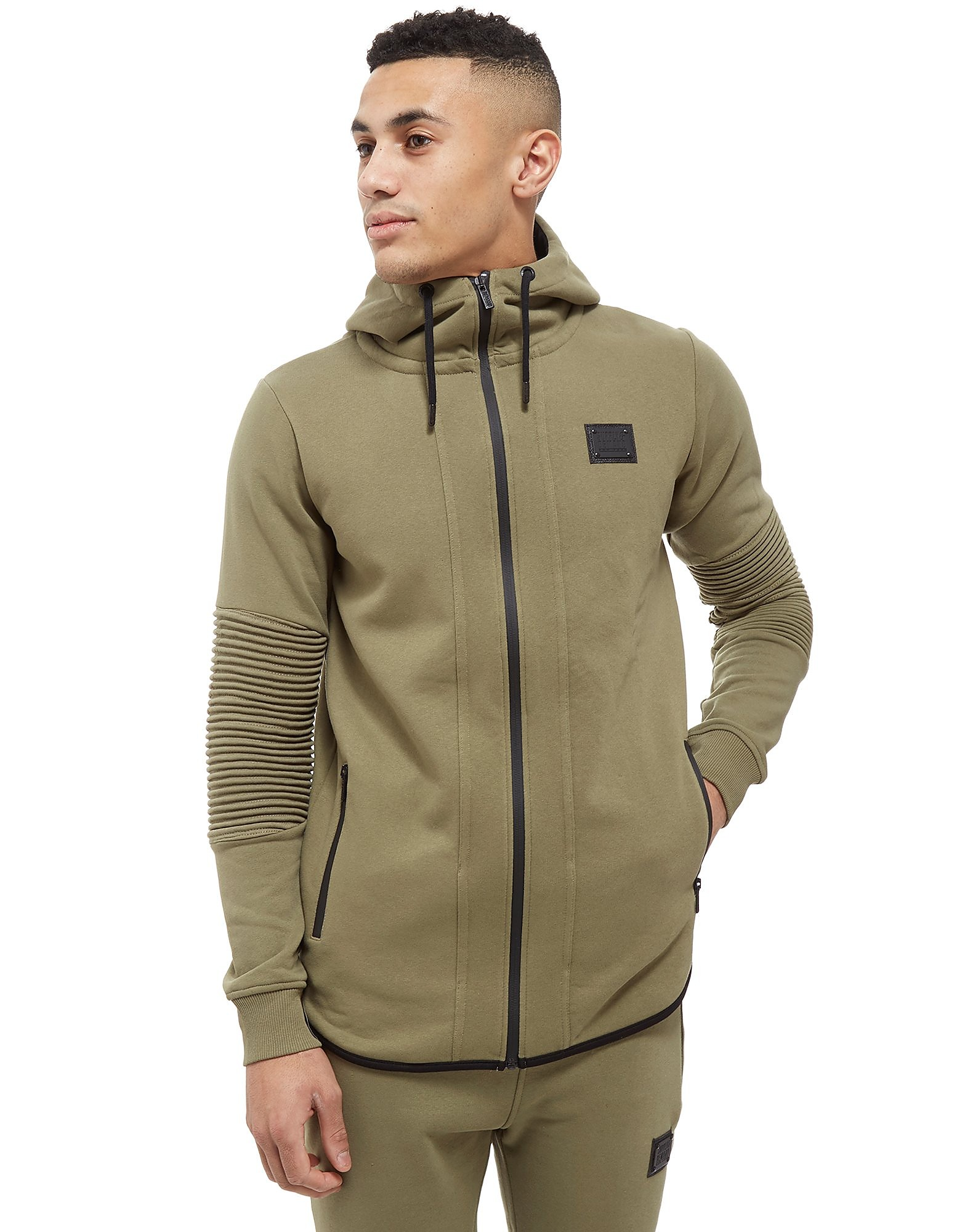 Supply & Demand Manhattan Brushback Fleece Hoodie - Only at JD, Sage