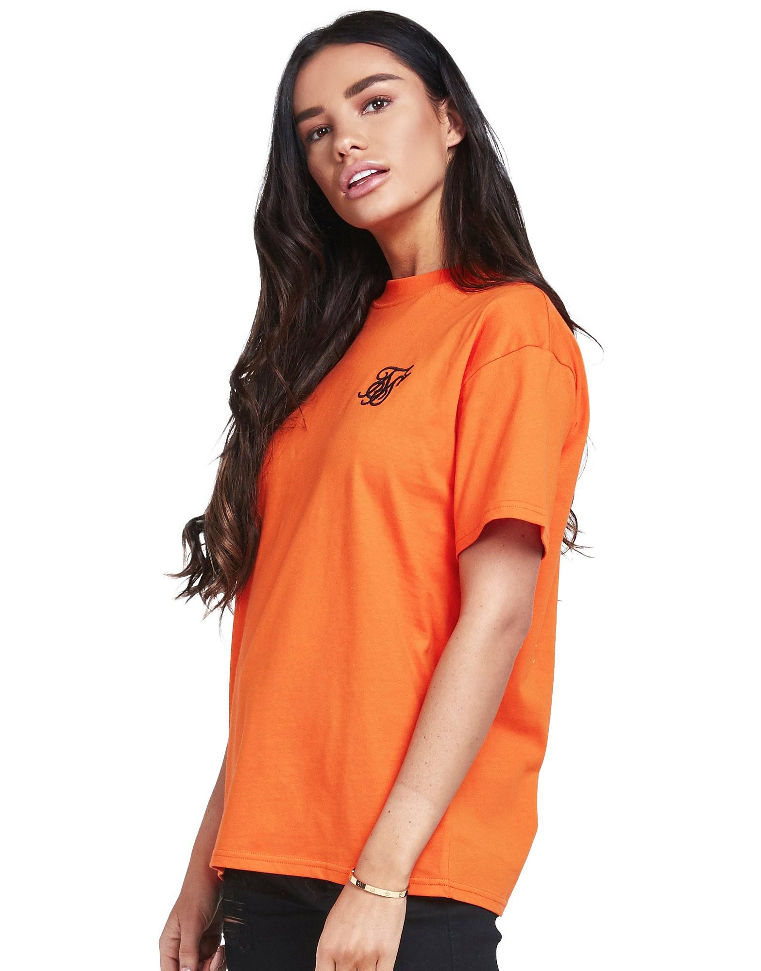 SikSilk Boyfriend T-Shirt Femme