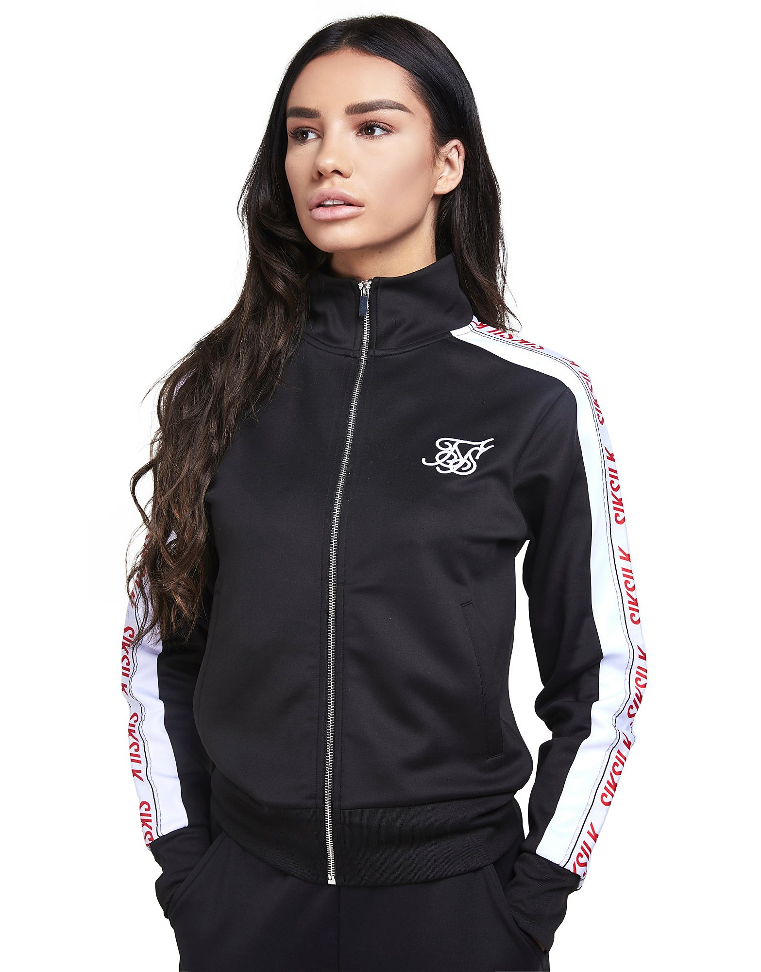 SikSilk Tape Track Top