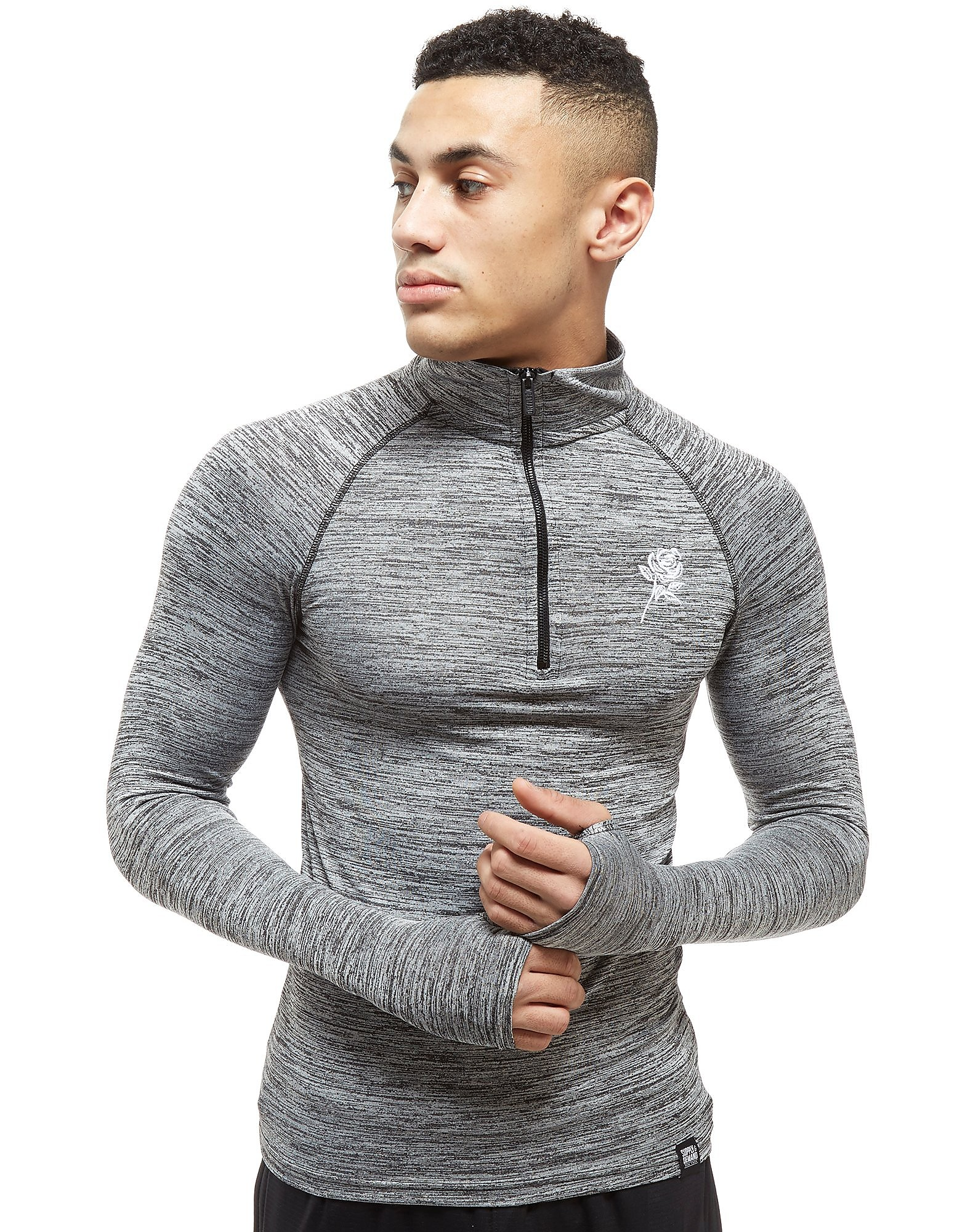 Supply & Demand Body Long Sleeve 1/4 Zip Top - Only at JD, Grey