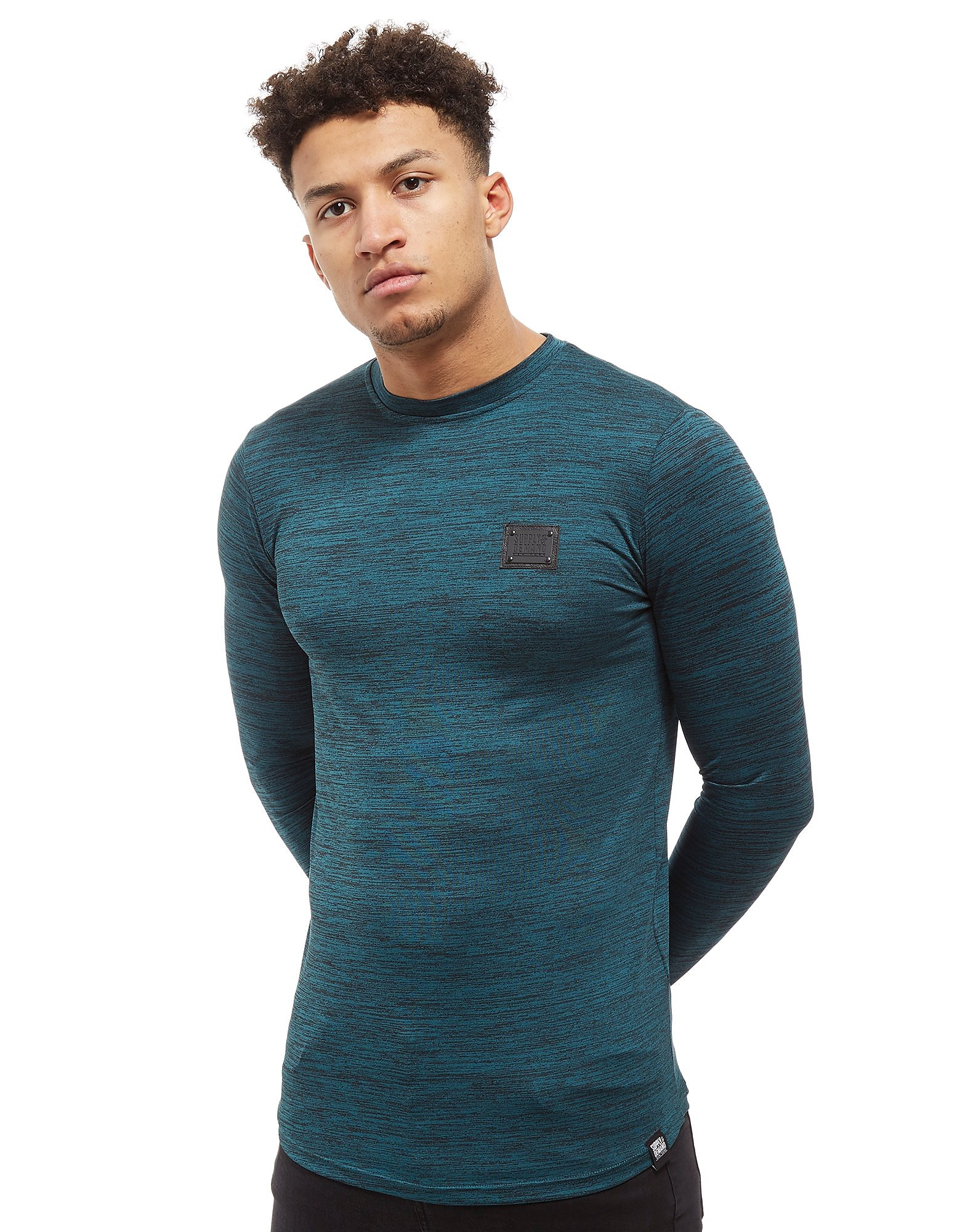 Supply & Demand Hendrick Long Sleeve T-Shirt - Only at JD, Teal