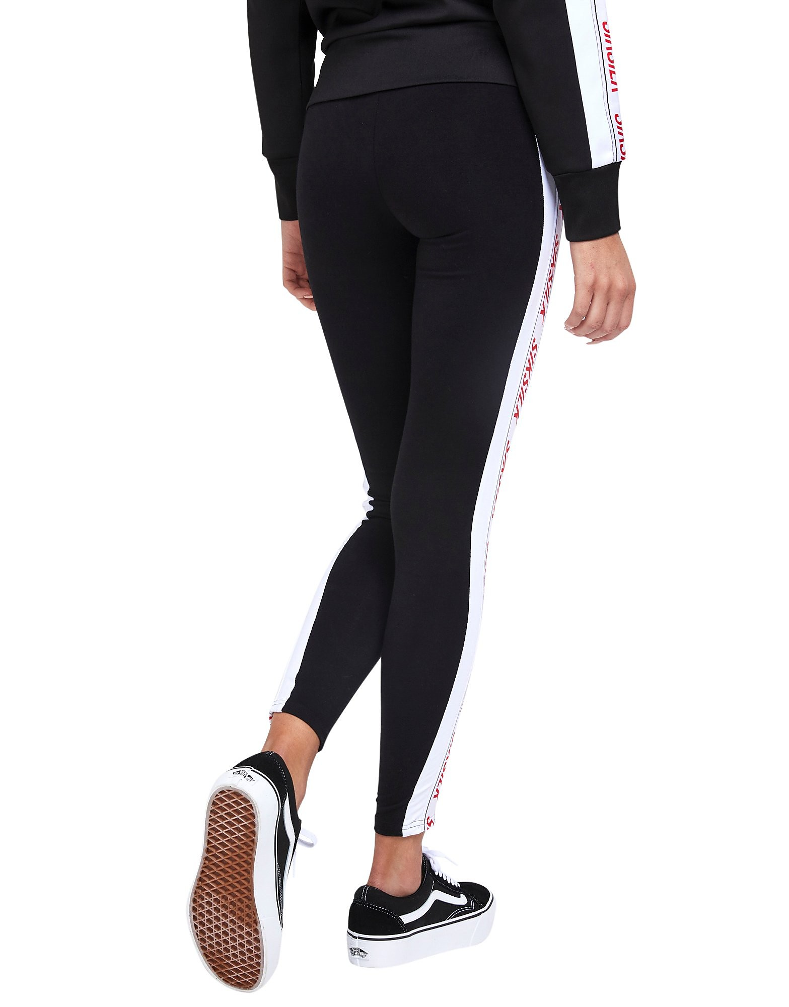 SikSilk Tape Panel Leggings