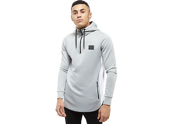 Supply & Demand Alaska 1/4 Zip Hoodie - Only at JD, Light Grey
