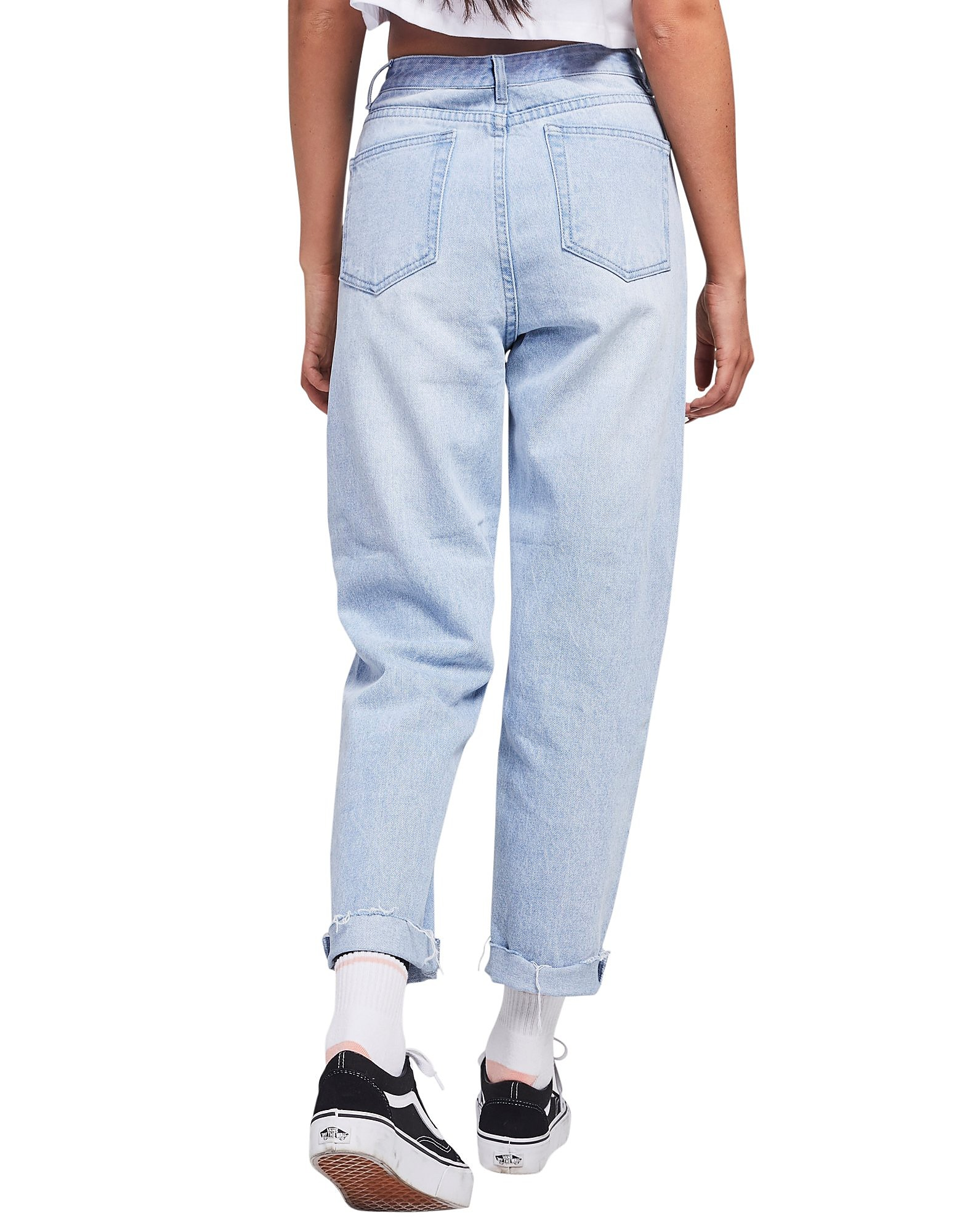 SikSilk Mom Jeans