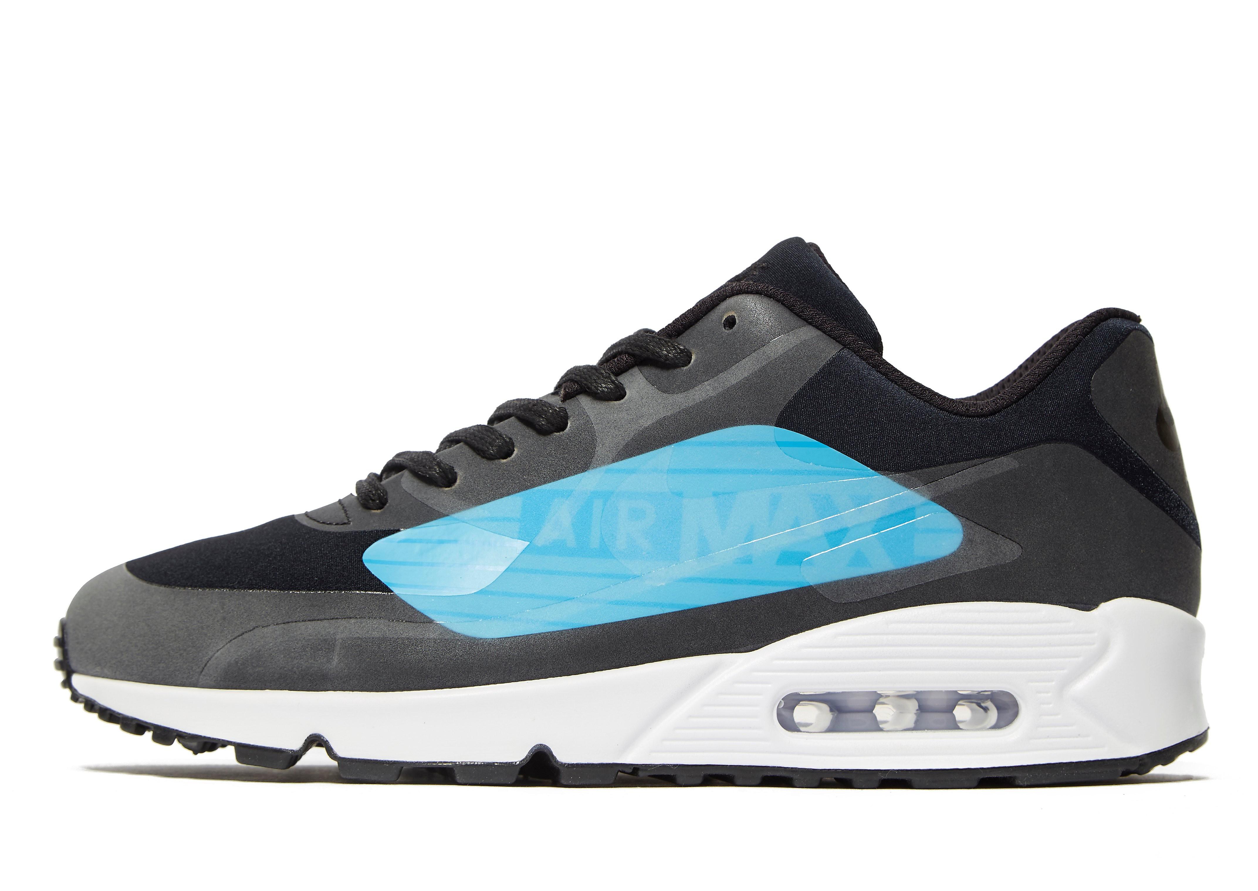 Nike - Air Max 90 Ultra Mid Winter - 924458401 - Color: Gris-Azul-Negro - Size: 42.5 y9ZgA3