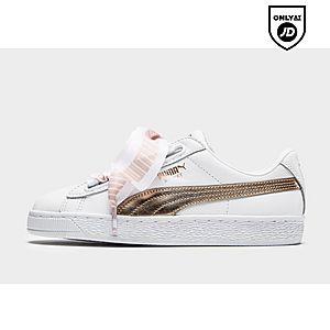 b26b1c6f1f9dc1 Womens Footwear - Puma Basket Heart