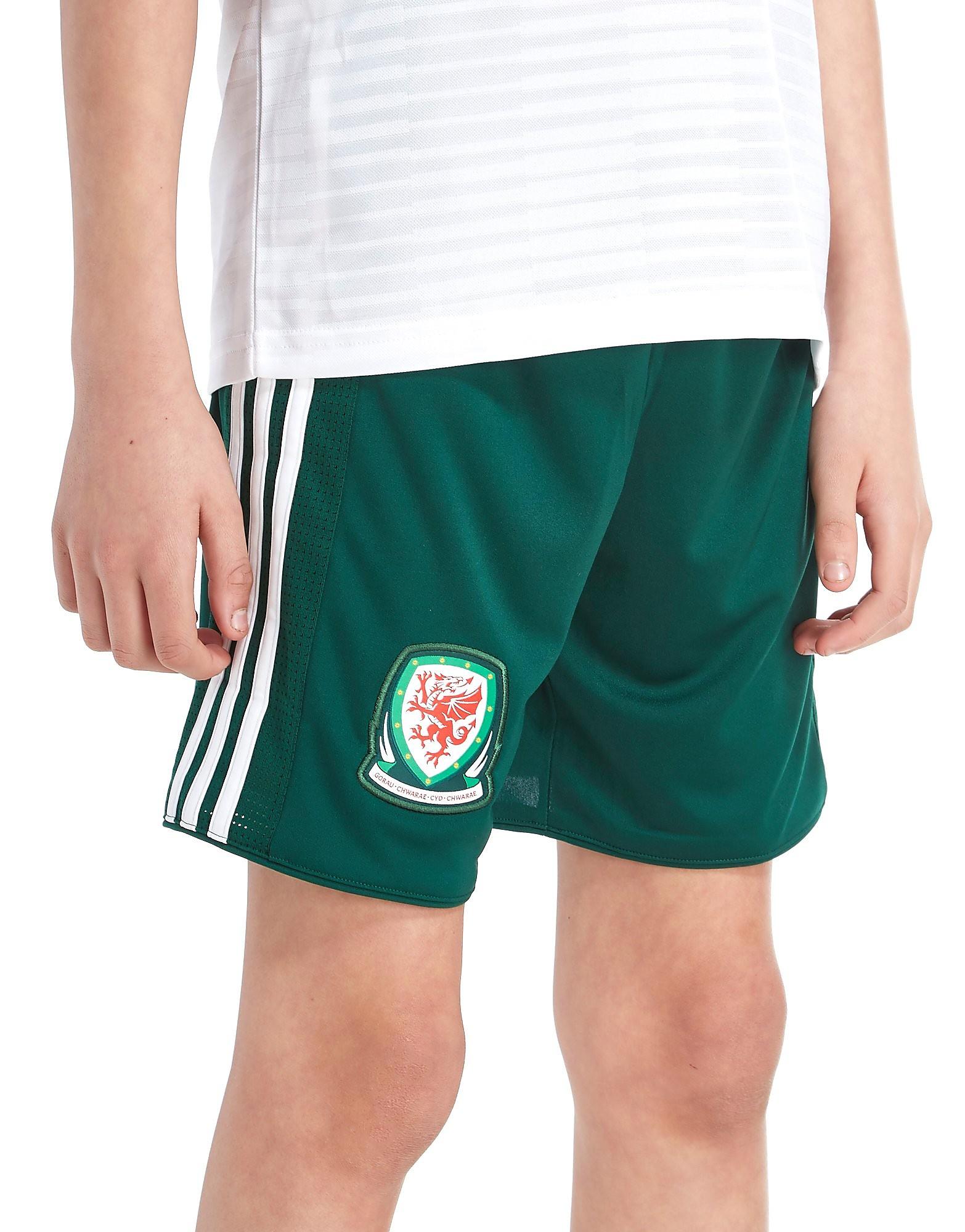 adidas Wales Away 2018 Shirt Junior - Groen - Kind