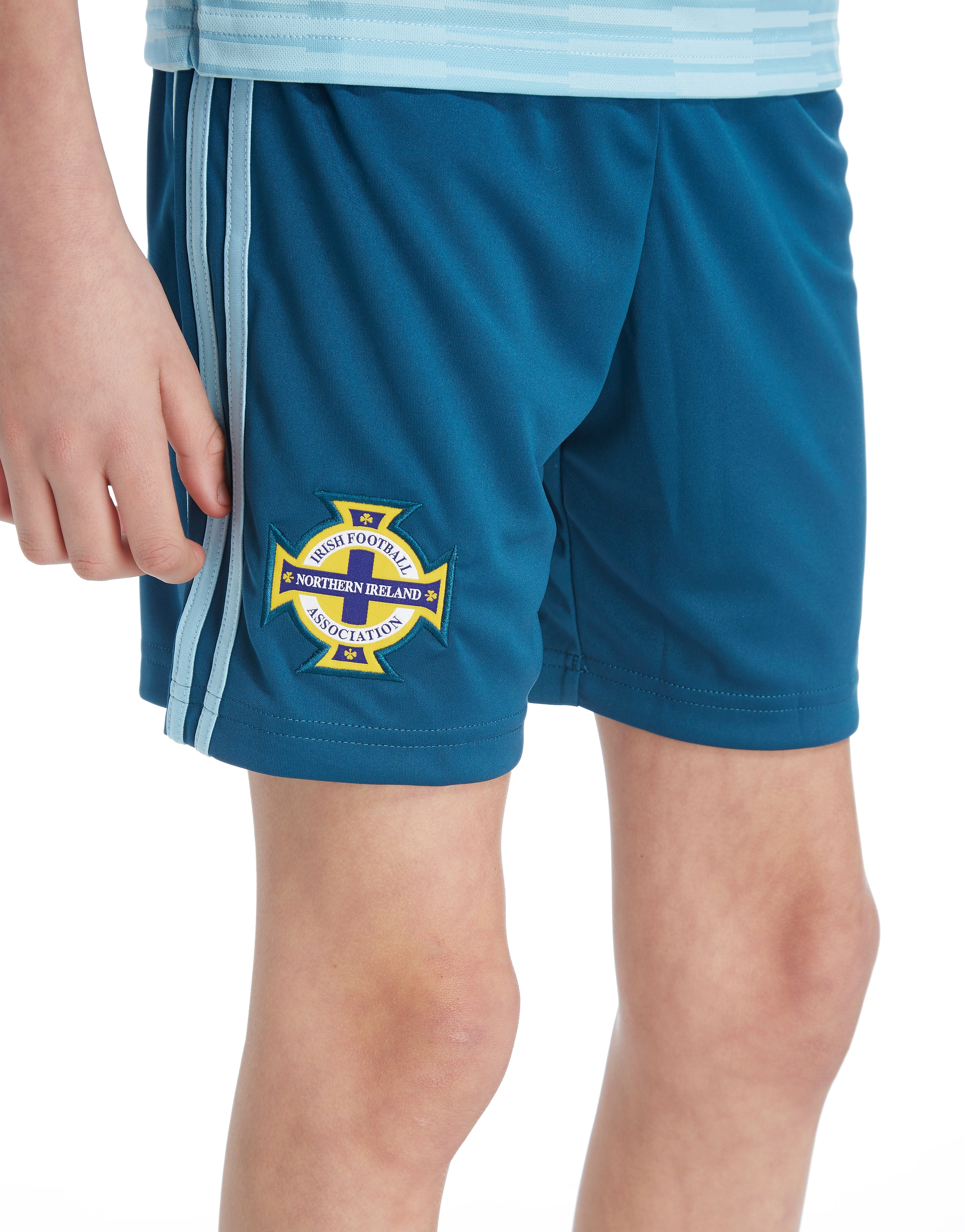 adidas Northern Ireland 2018 Away Shorts Junior