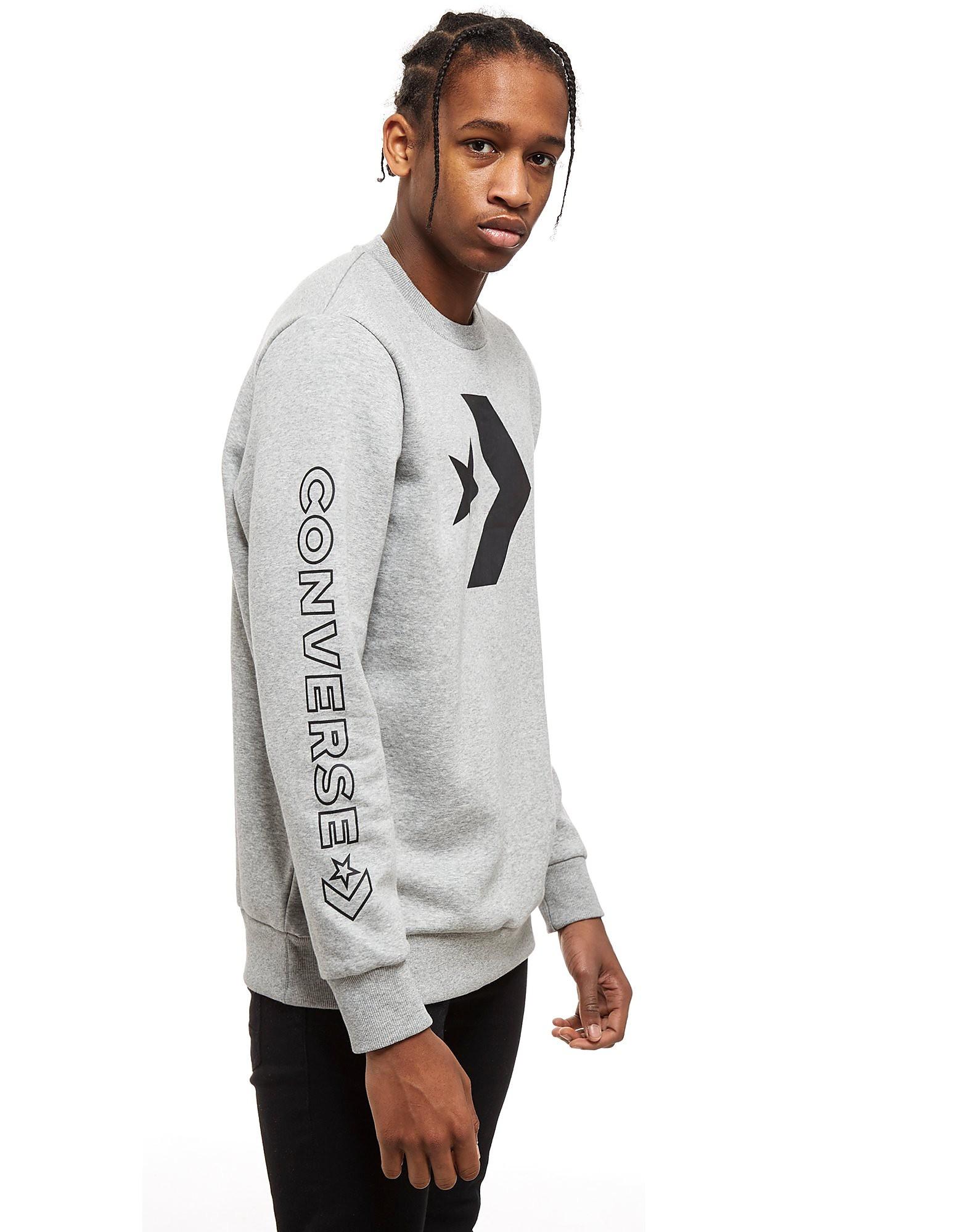 Vegan Converse Big Star Chevron Sweatshirt