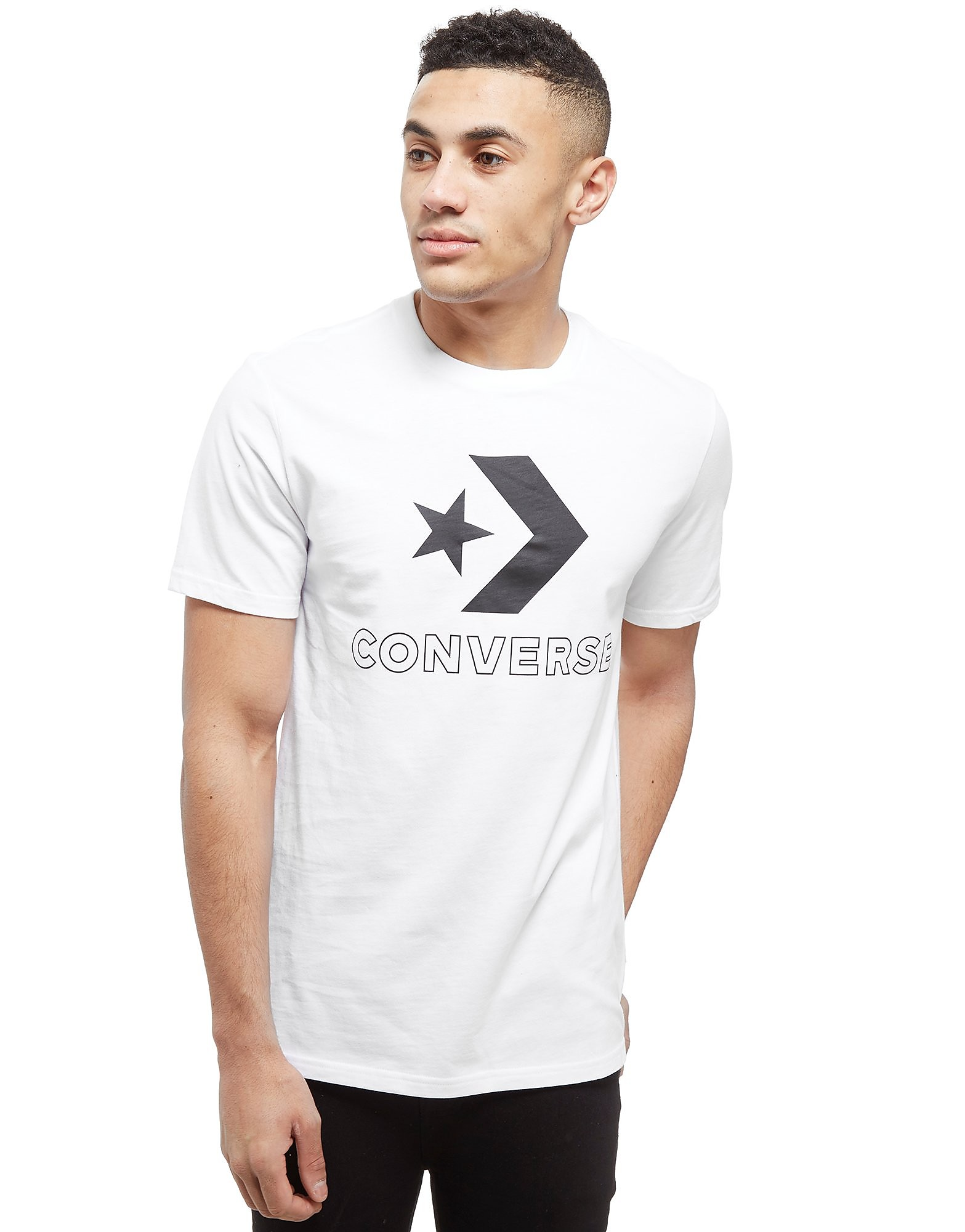 Converse camiseta Big Star Chevron
