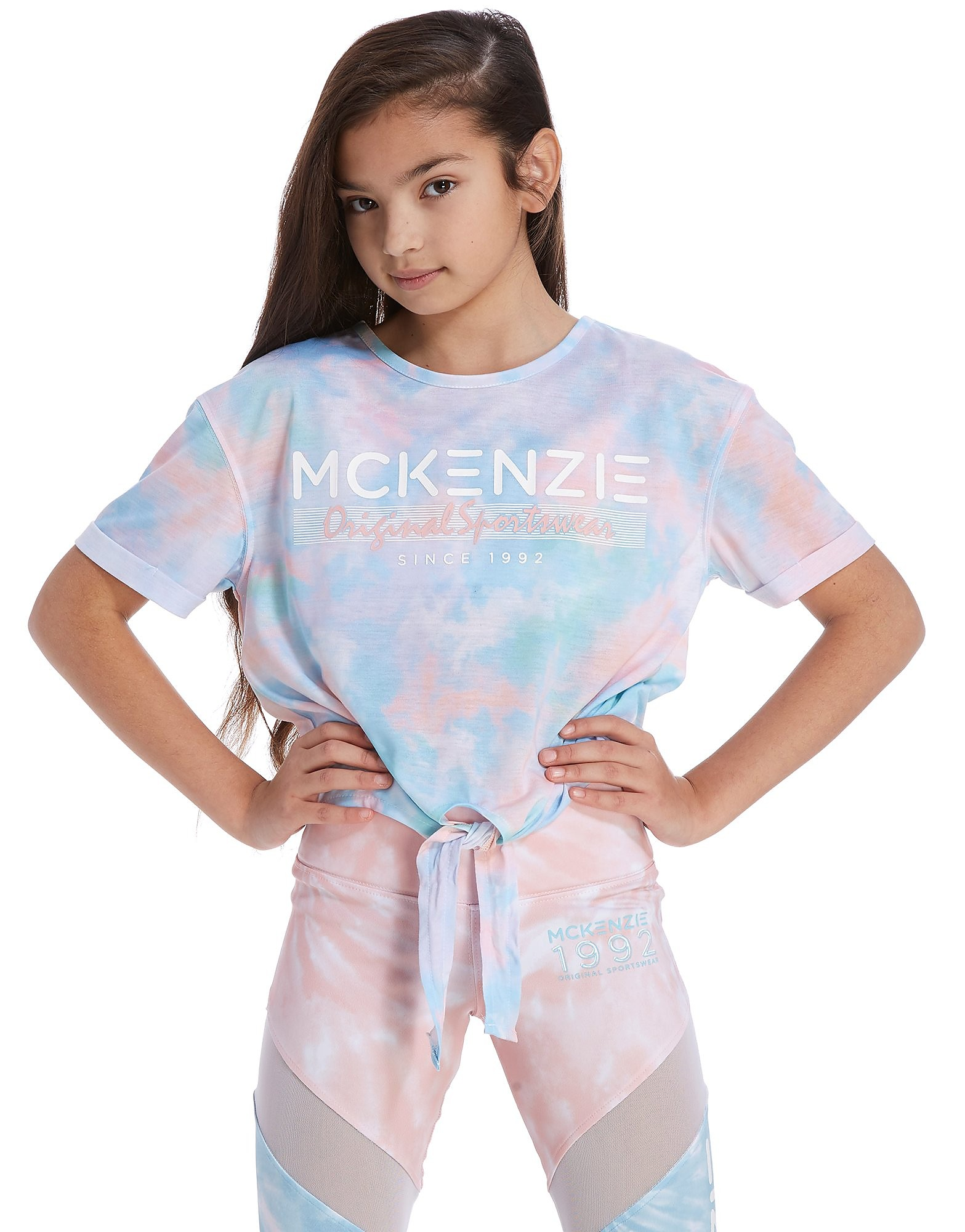 McKenzie Girls' Ida Knot Front T-Shirt Junior