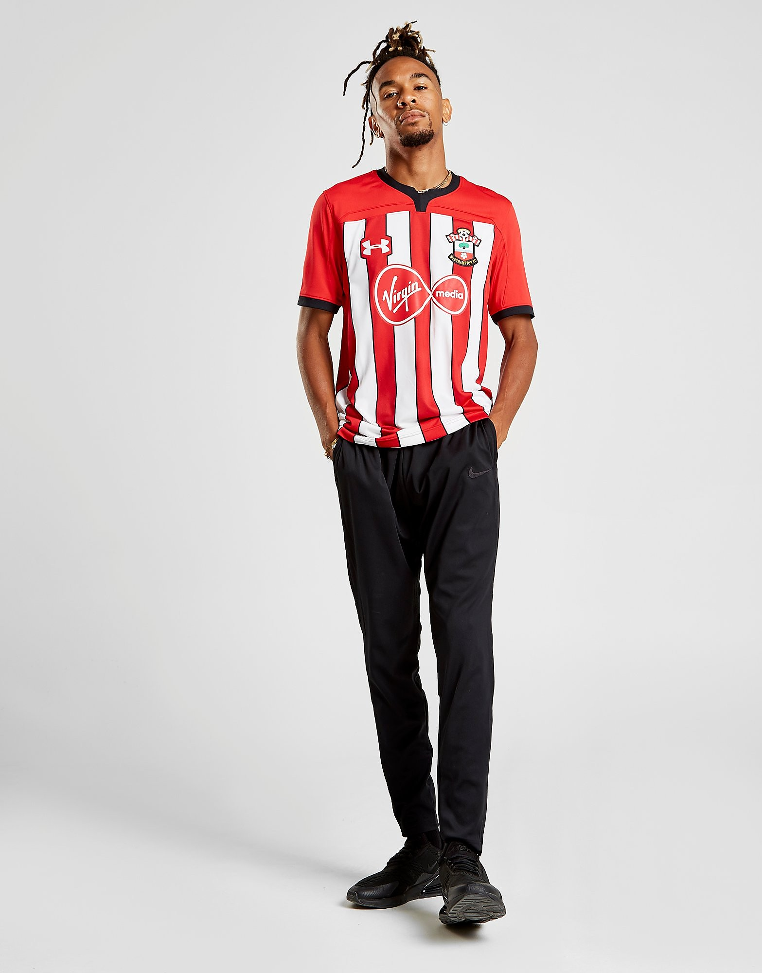 Under Armour Southampton FC 2018/19 Home Shirt Heren - Rood - Heren
