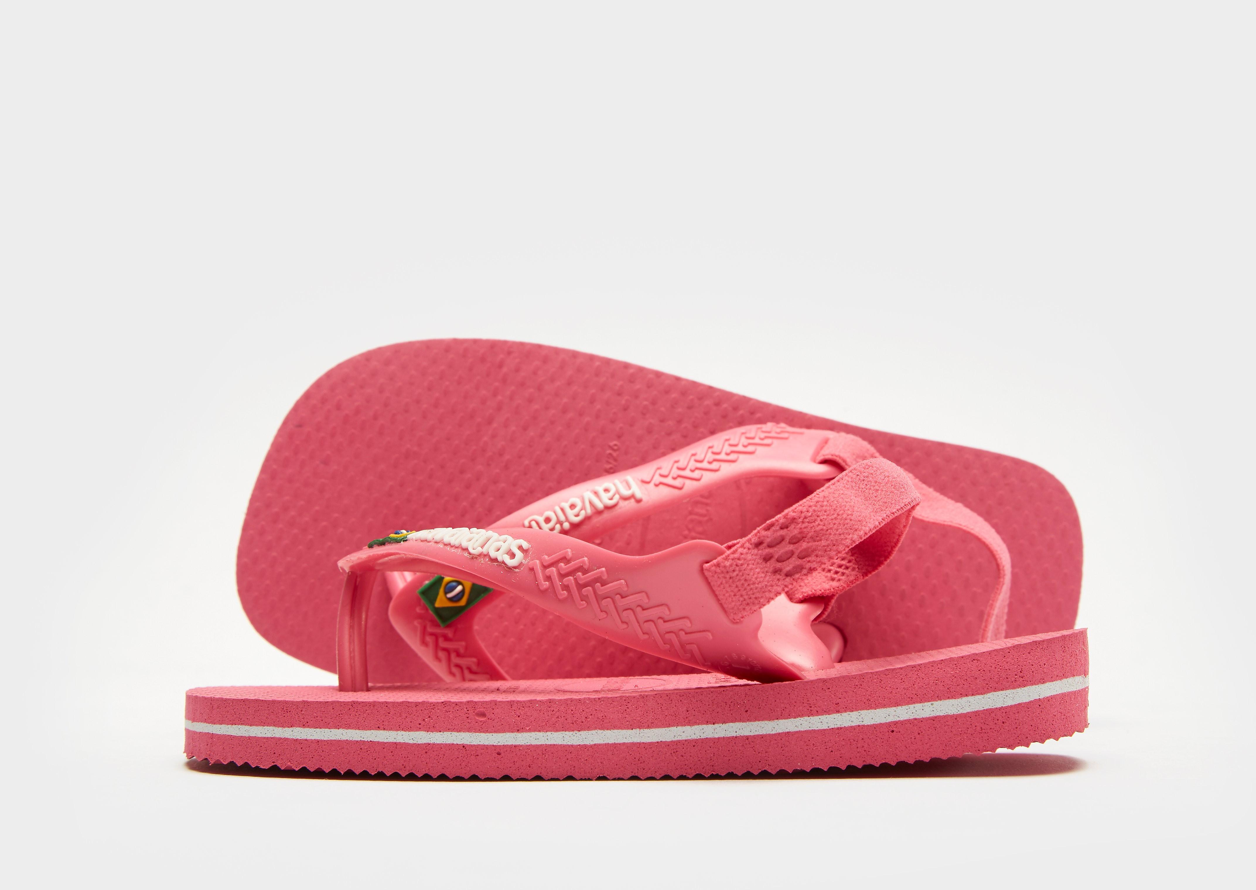 Havaianas Brazil Logo Flip Flops Baby's - Roze - Kind
