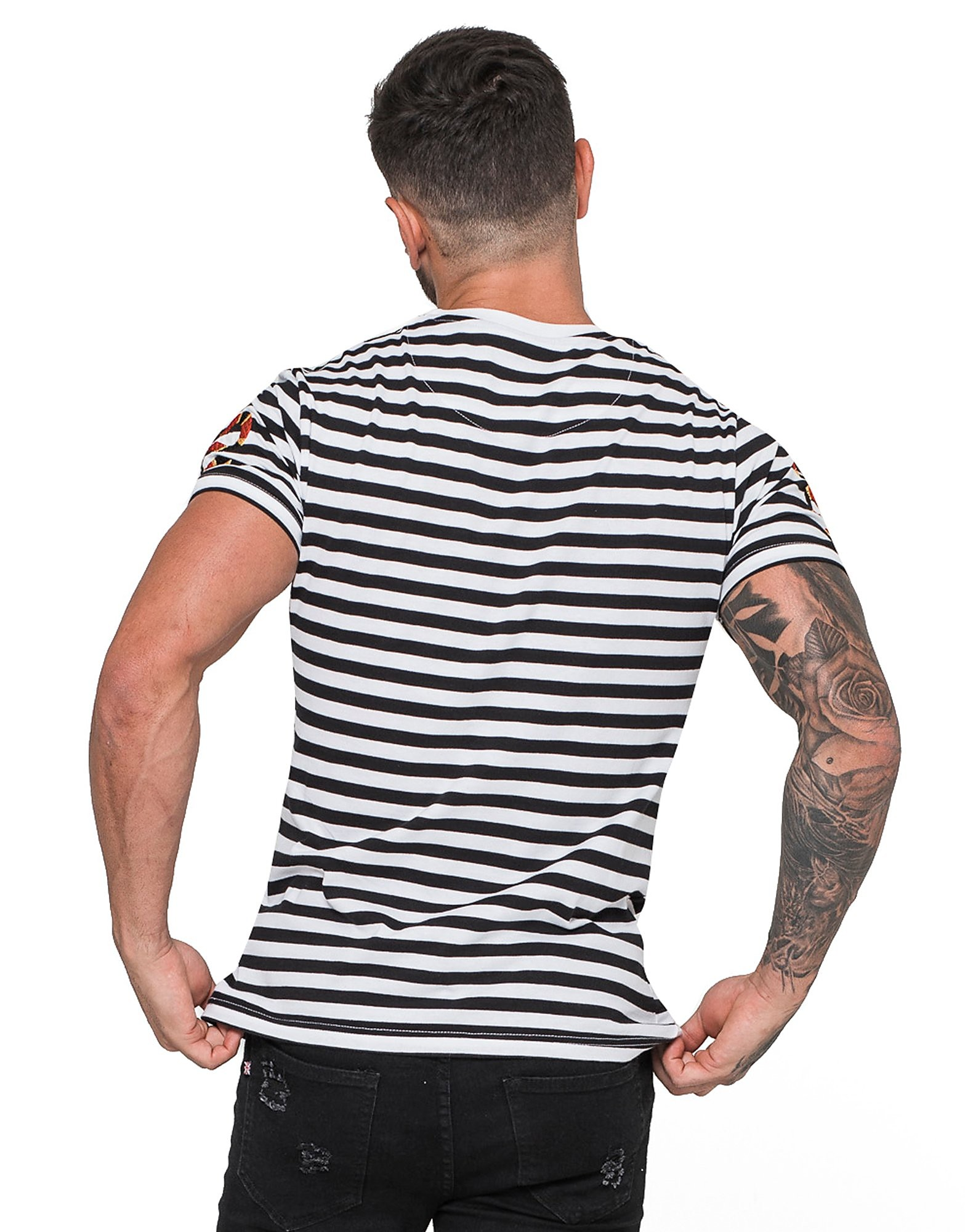 Good For Nothing Stripe Snake T-Shirt